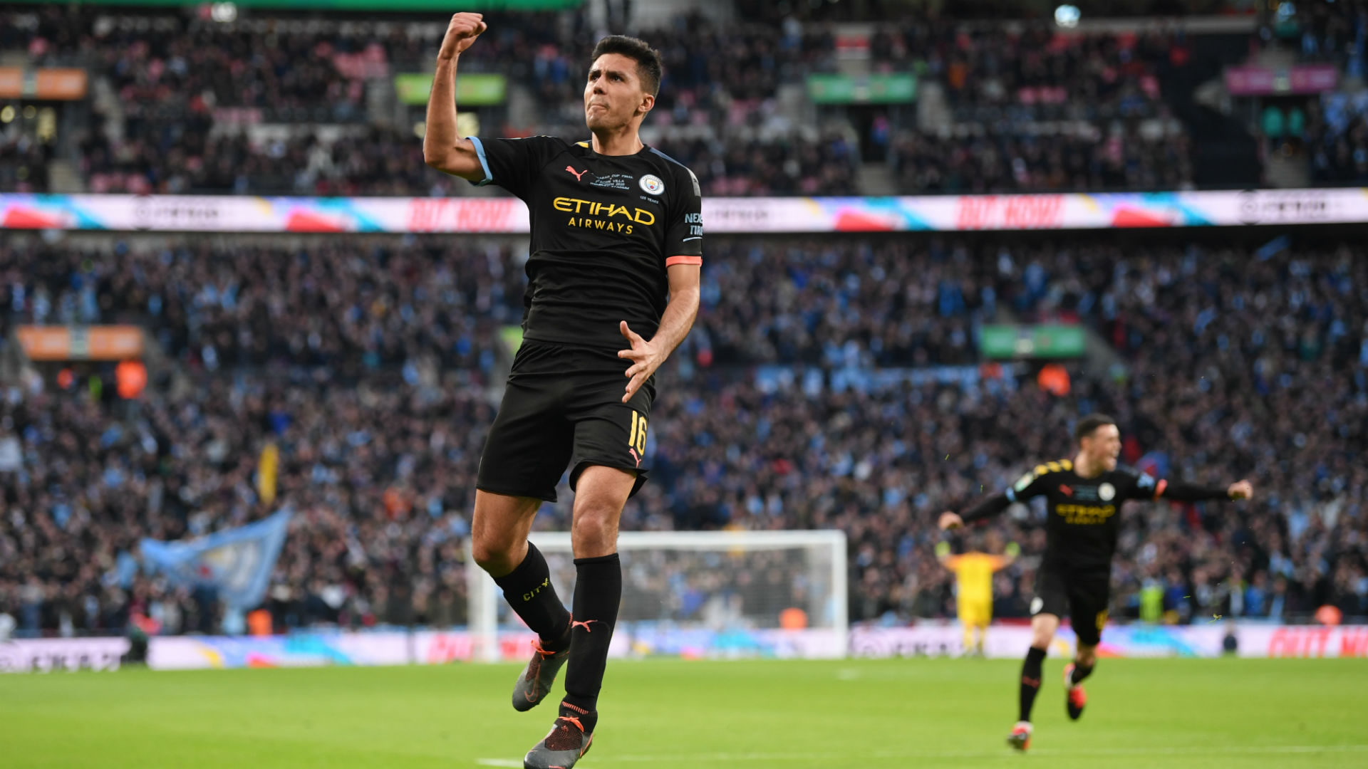 Aston Villa 1-2 Manchester City: Fifth EFL Cup triumph in seven seasons for City