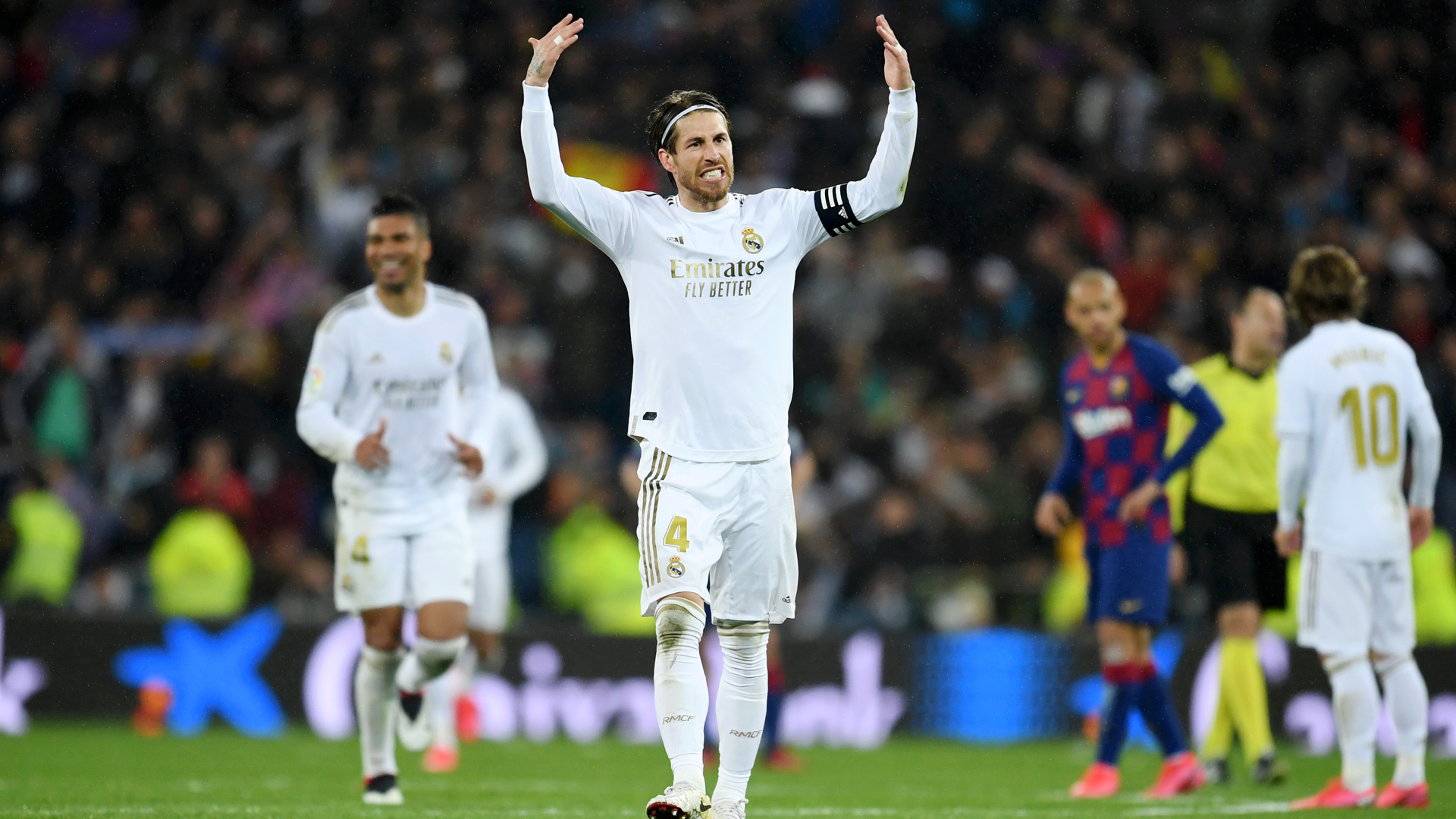 Worst Madrid? I'd sign to win every Clasico like that – Ramos hits back at Pique