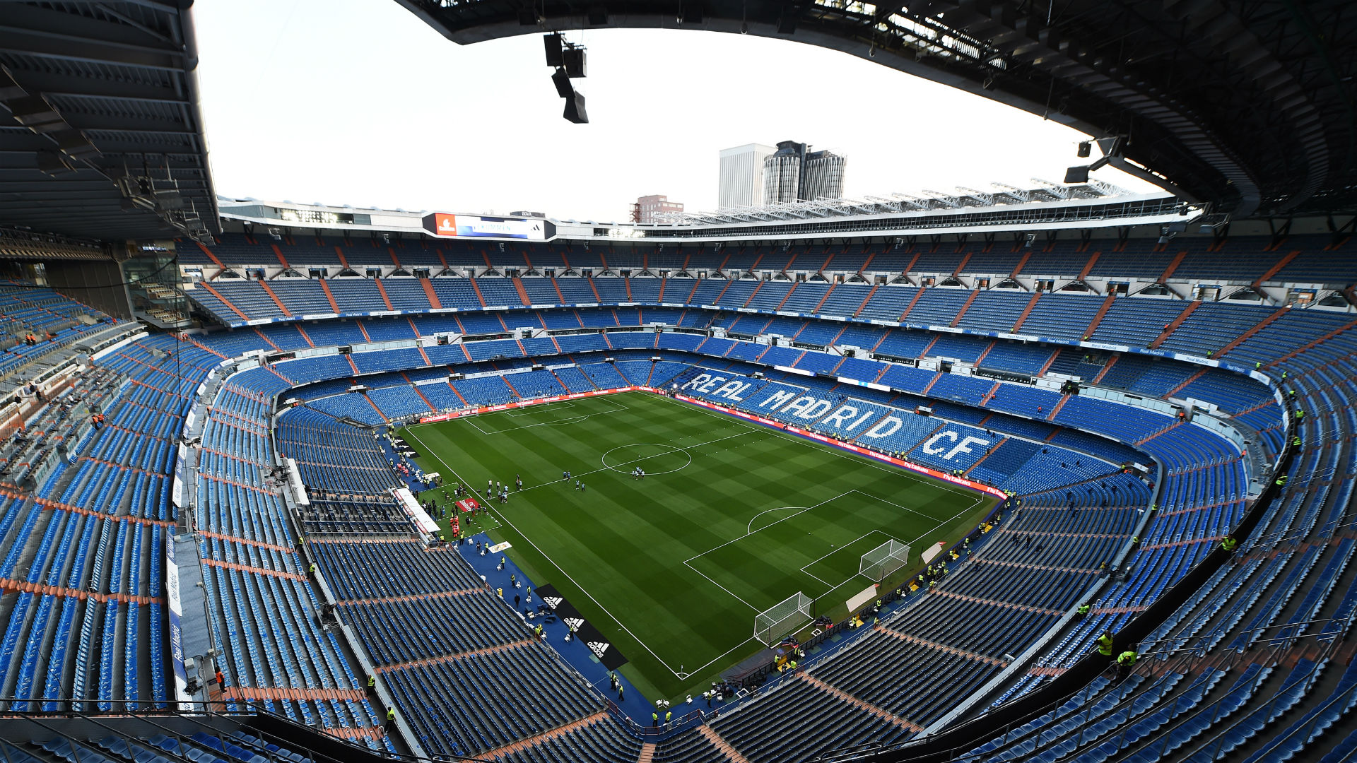 Coronavirus: Real Madrid's Bernabeu to store medical equipment