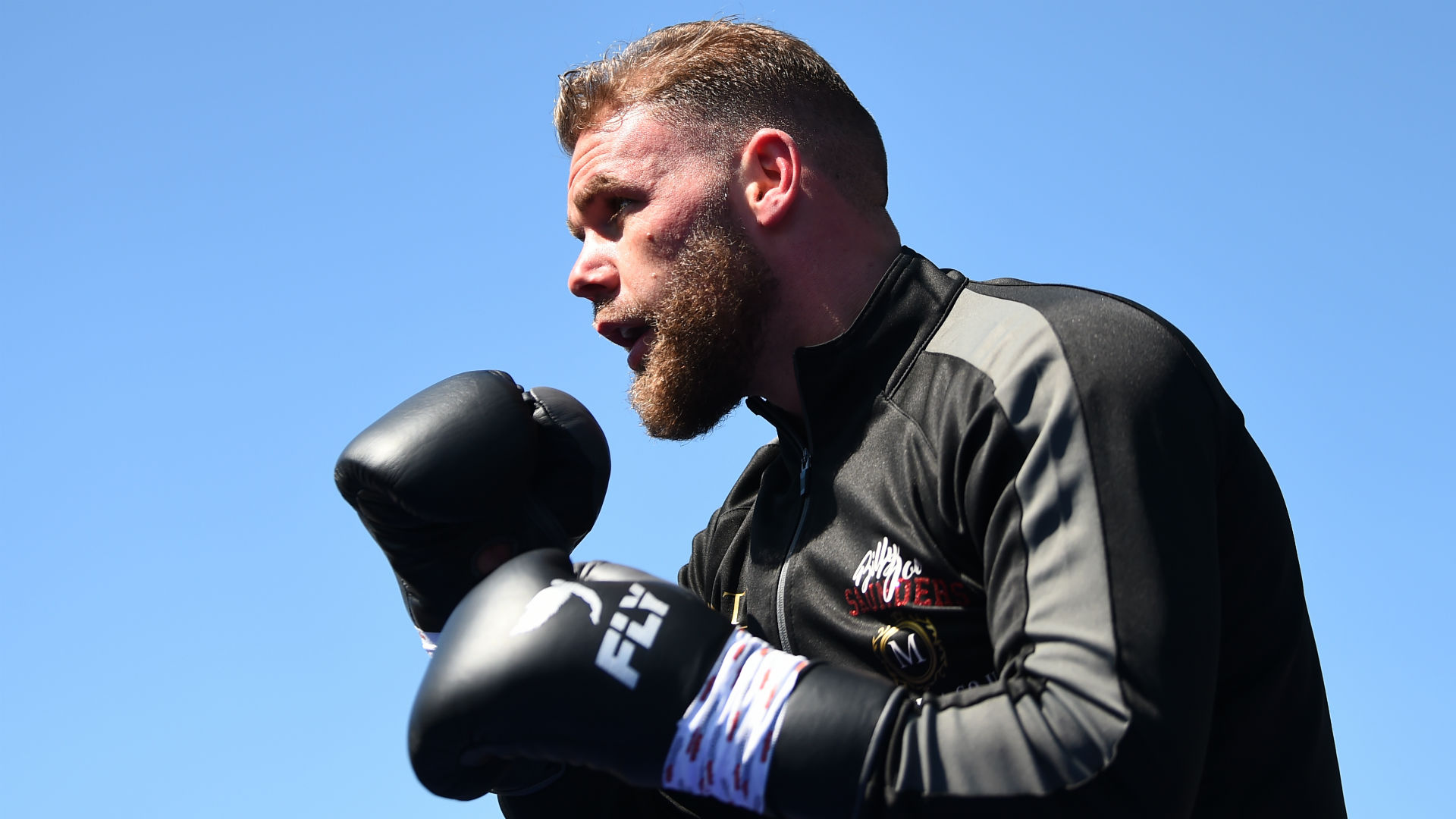 Saunders suspended for video advising how to hit women