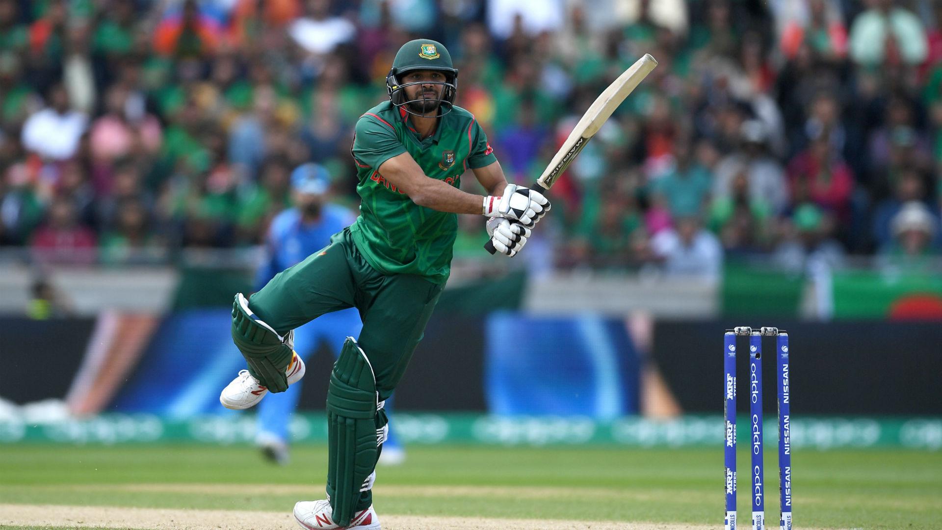 Mortaza to step down as Bangladesh ODI captain