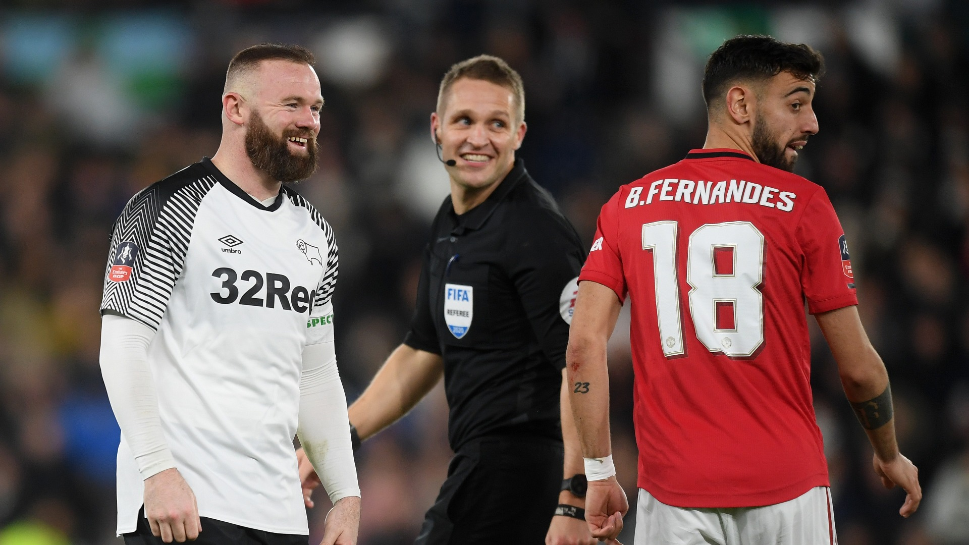 United untroubled as Rooney gets tributes but no triumph at Pride Park