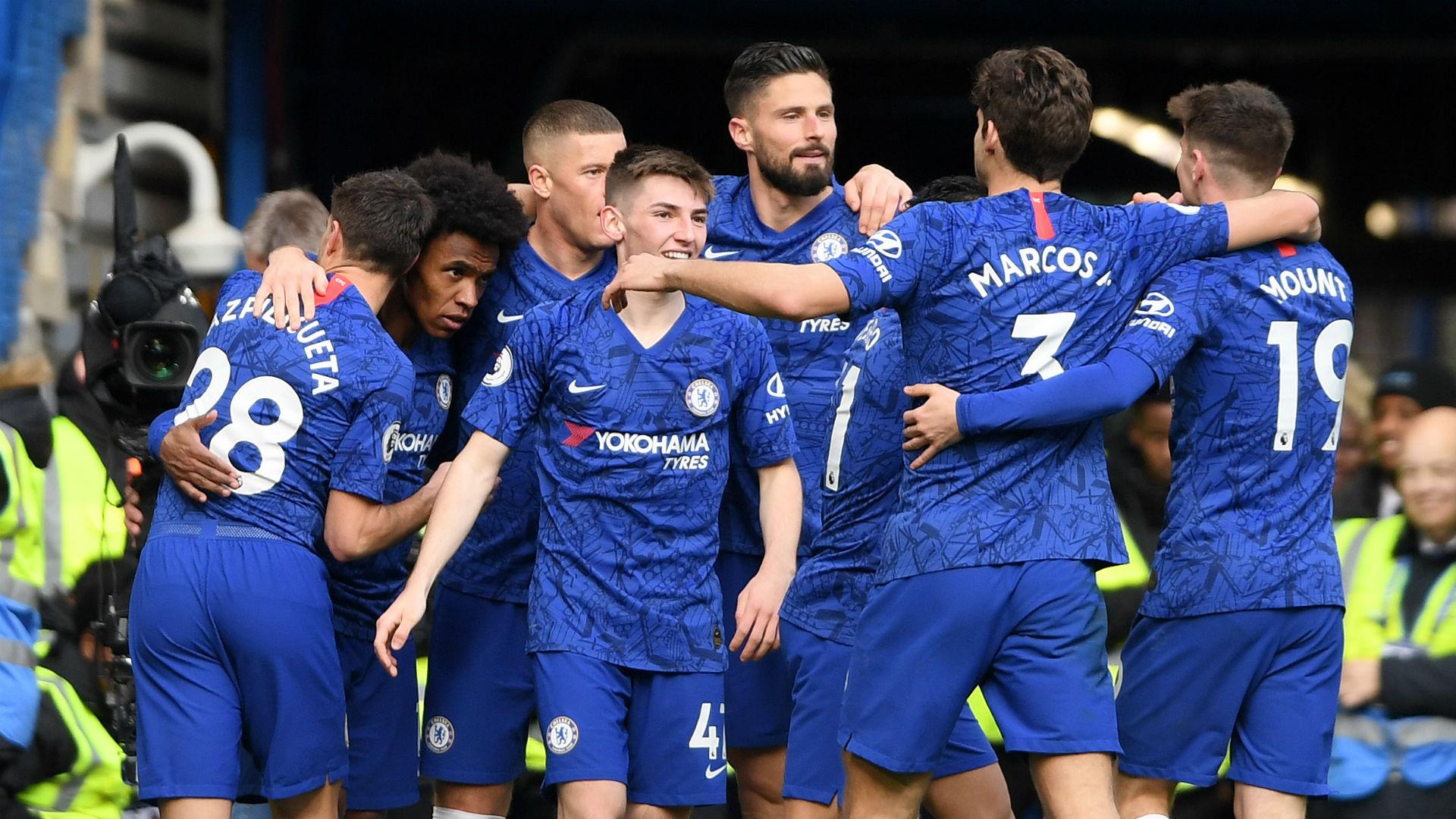 Chelsea 4-0 Everton: Ancelotti swept aside on Stamford Bridge return