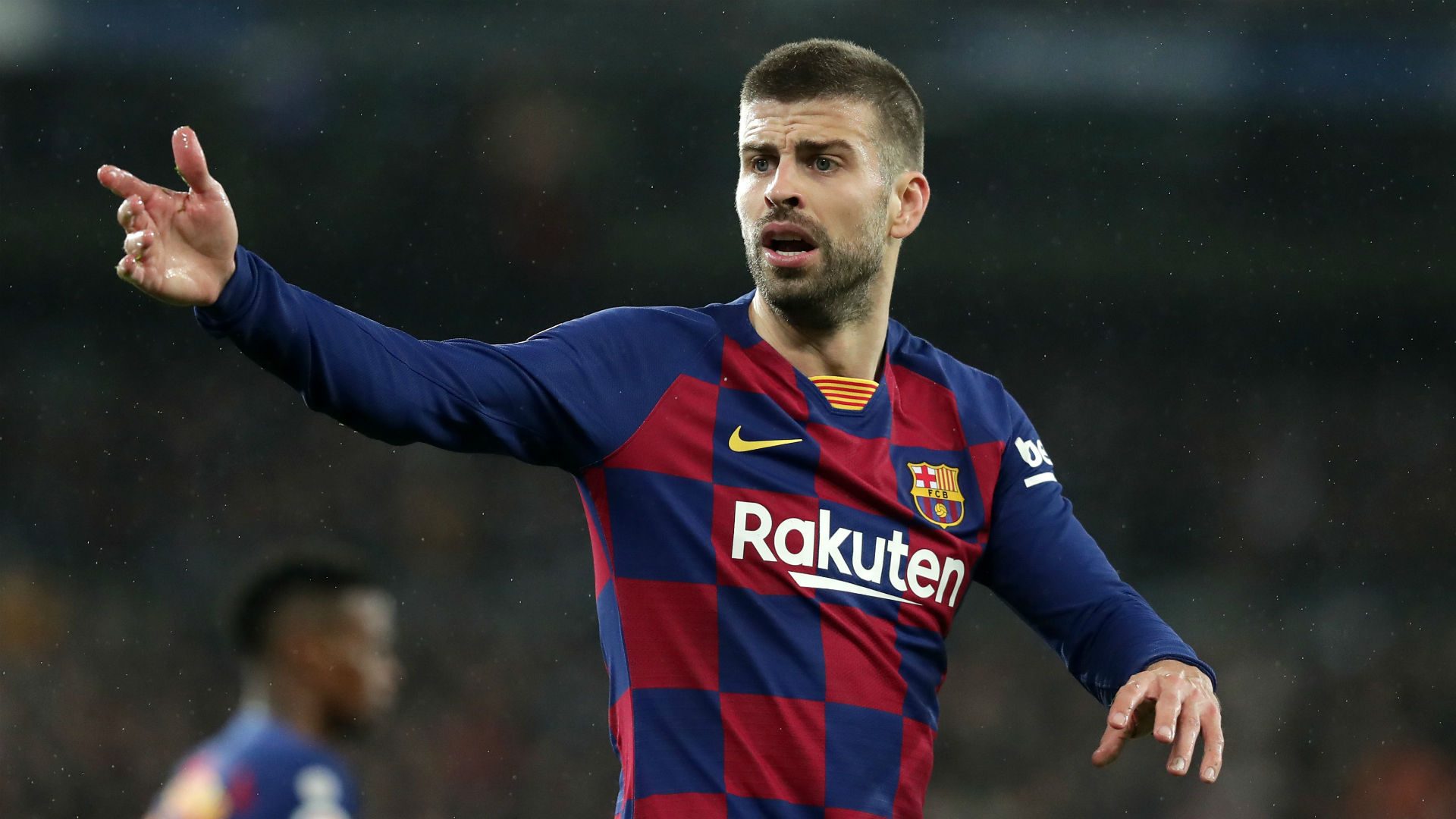 Pique defends Sarabia: Barcelona players like intensity in the dugout