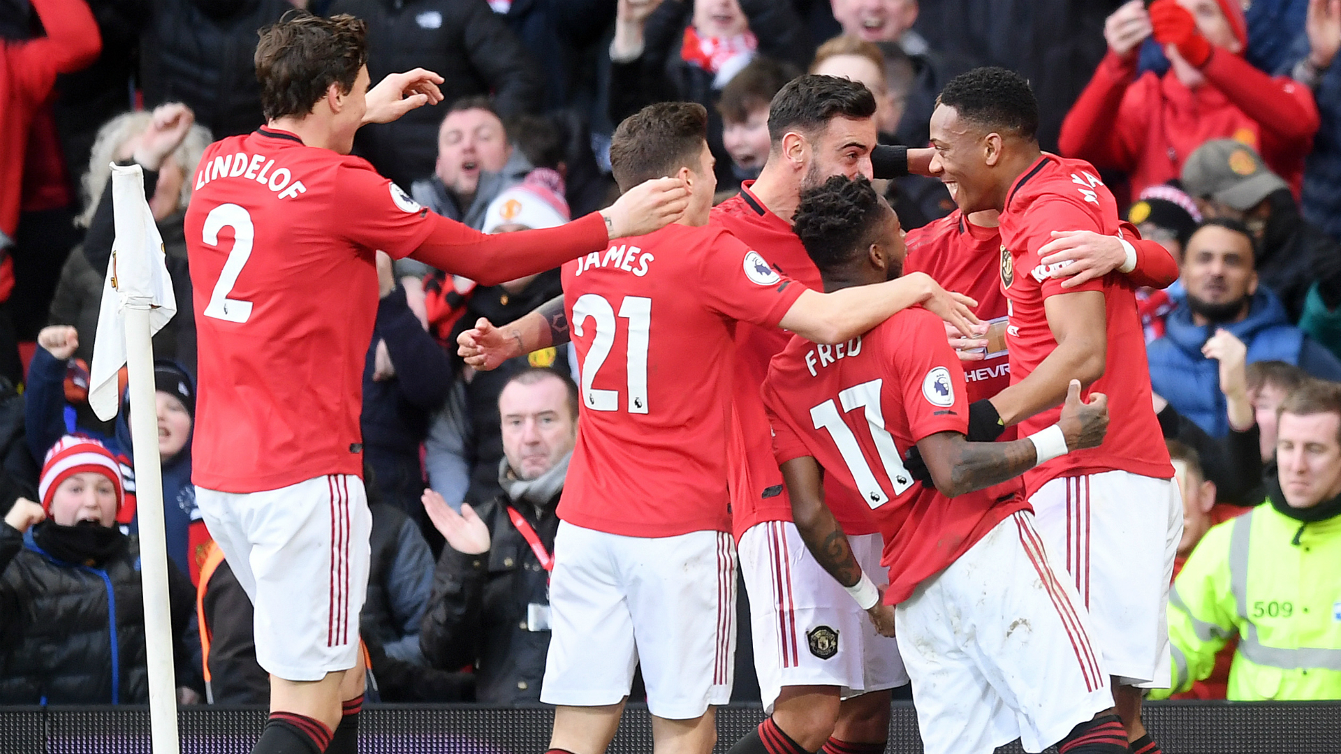Manchester United 2-0 Manchester City: Ederson horror-show puts Liverpool on brink of title