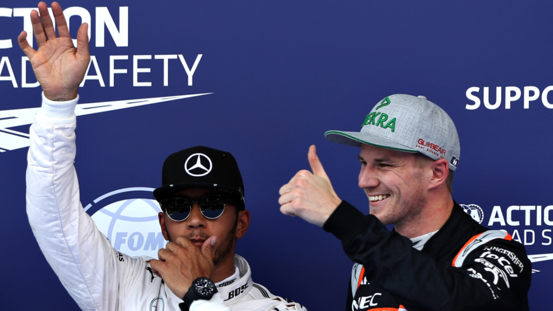 Hulkenberg thinks Hamilton crash changed 'trajectory' of F1 career