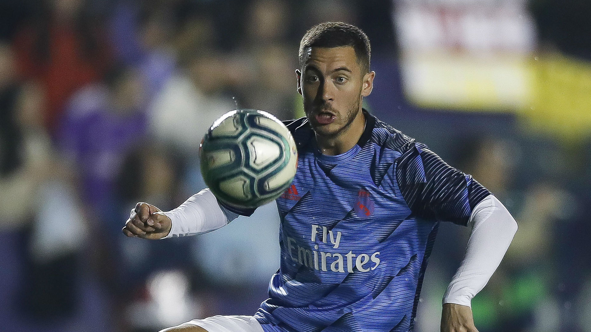 Madrid star Hazard needs more physical work to recover from broken ankle