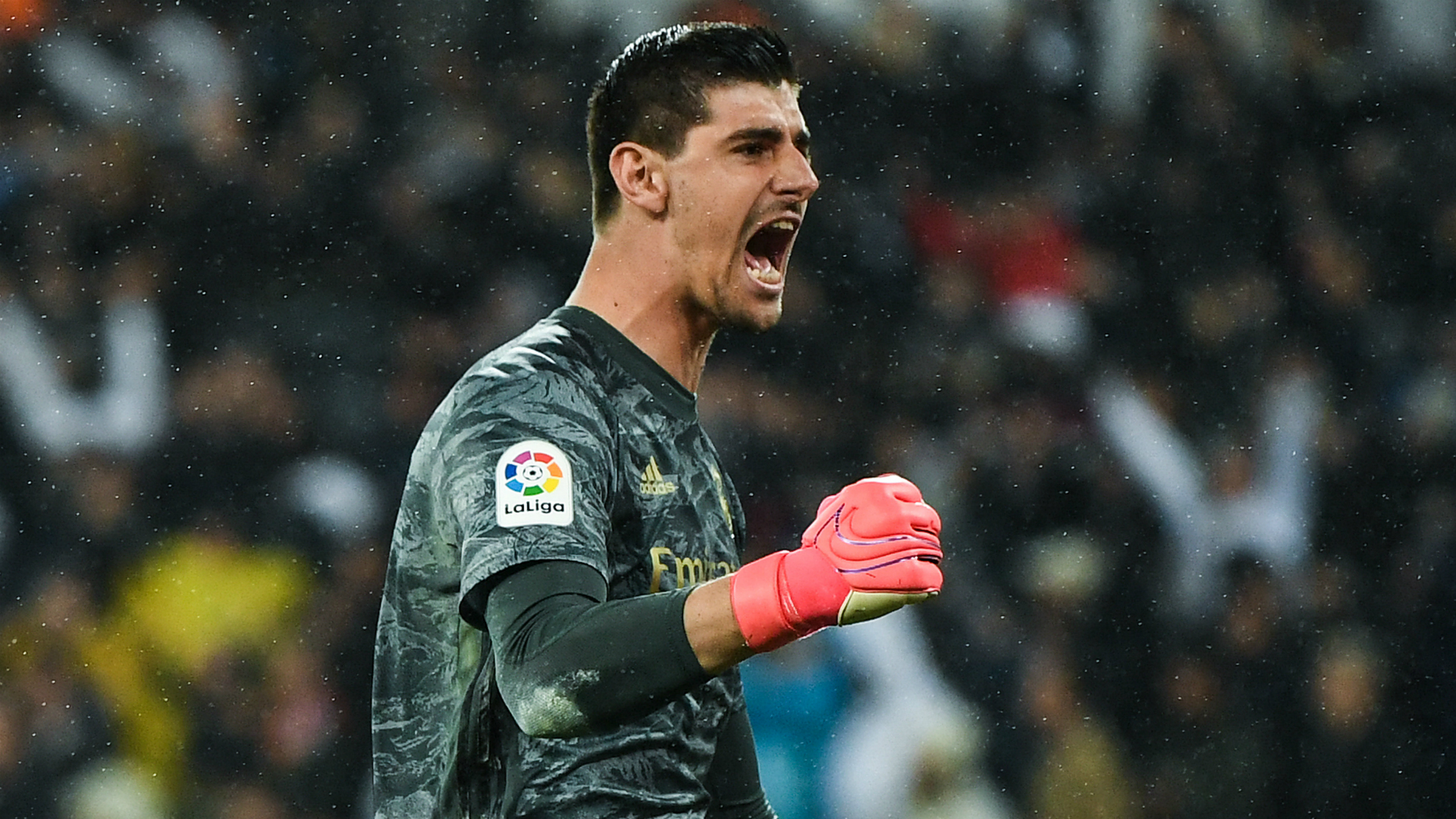 Courtois ready for LaLiga title battle