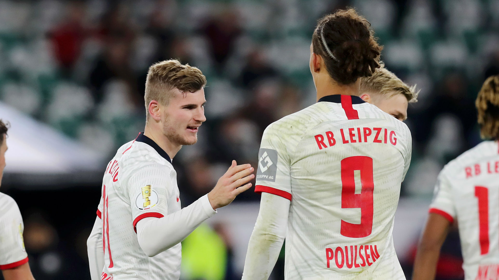 Werner S Future Is Up To Him Says Rb Leipzig Team Mate Poulsen Bundesliga News Stadium Astro