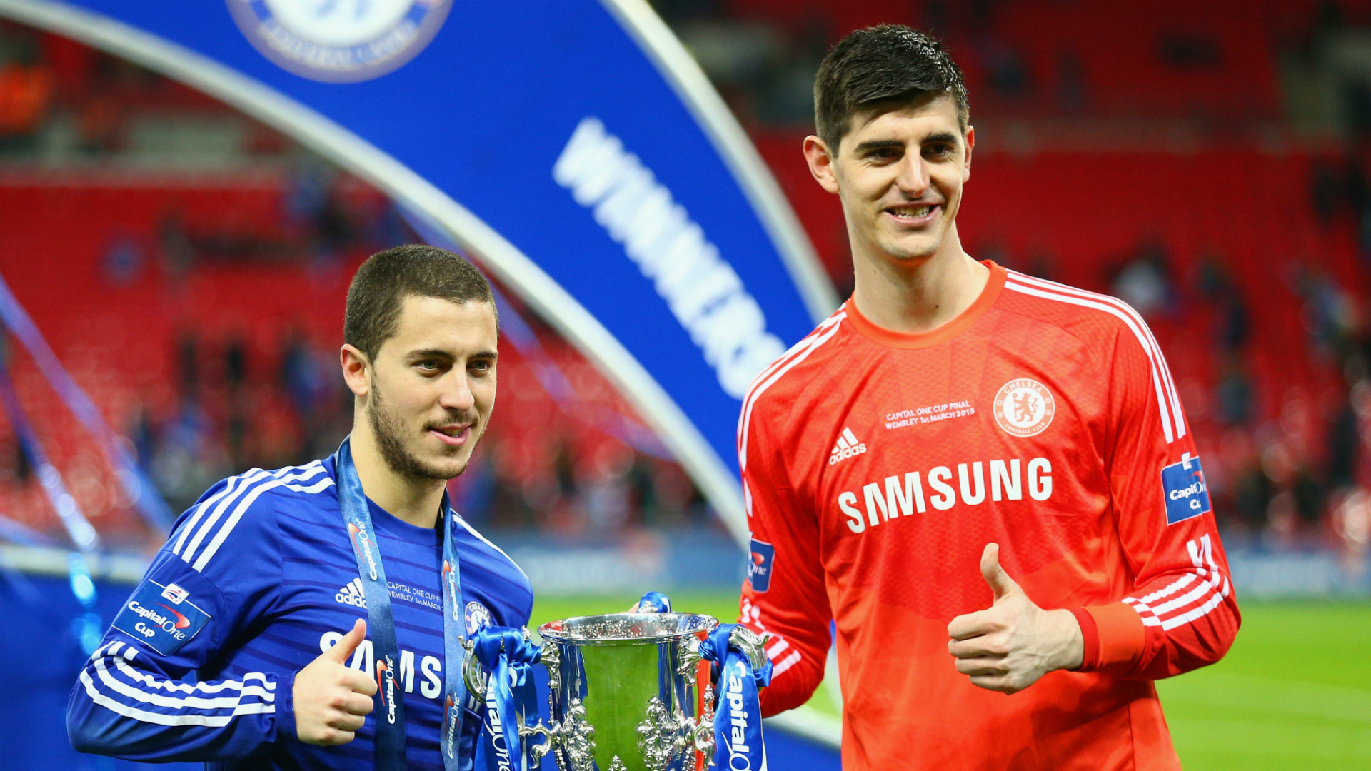 Courtois and Hazard discussed Real Madrid move while at Chelsea