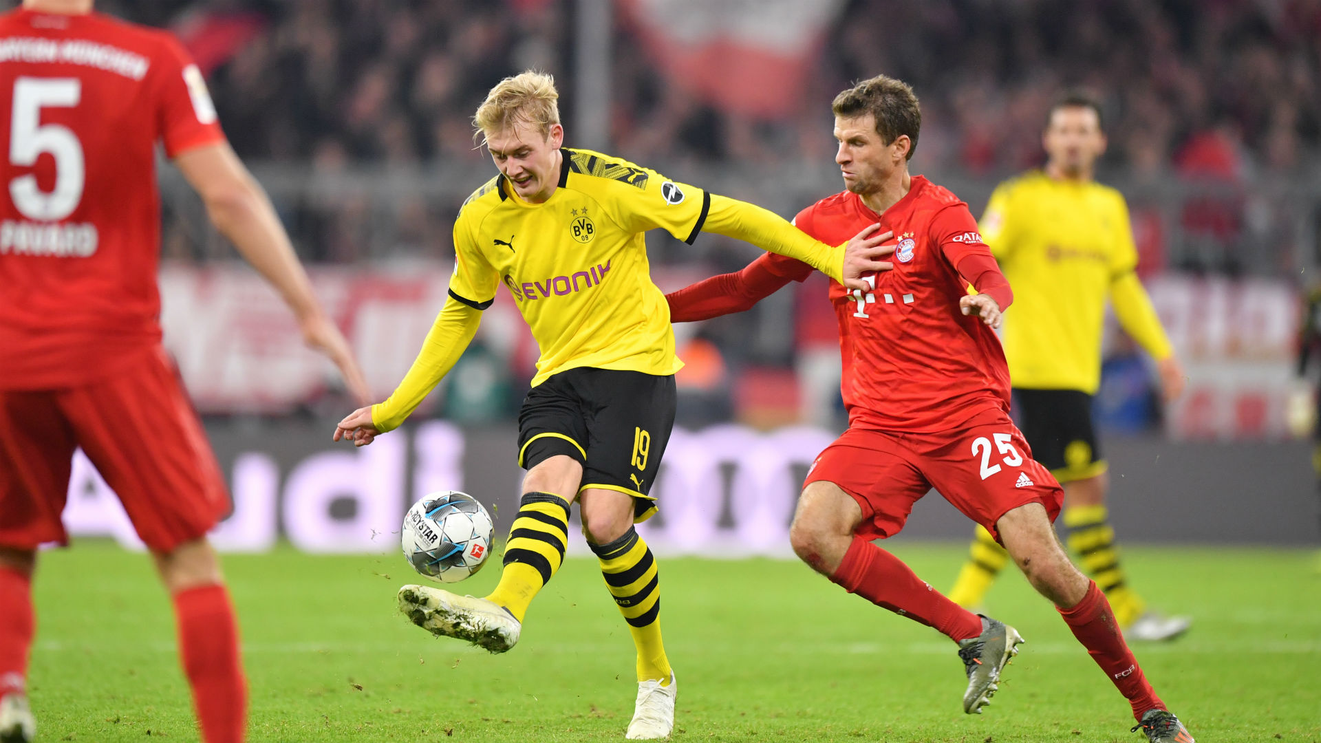 Dortmund v Bayern: Brandt ready for centre stage in Klassiker