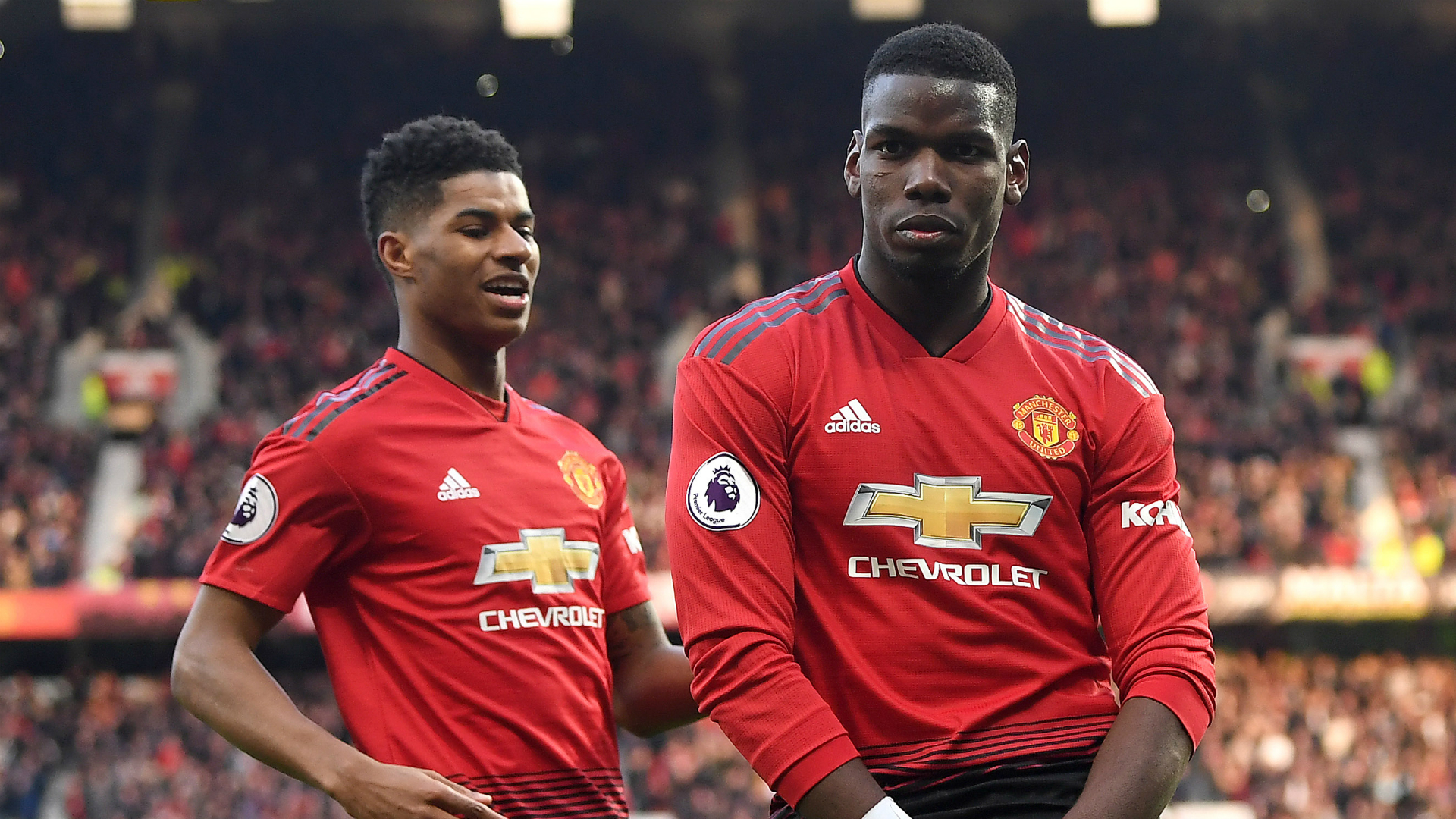 Man Utd duo Pogba and Rashford fit for Premier League restart