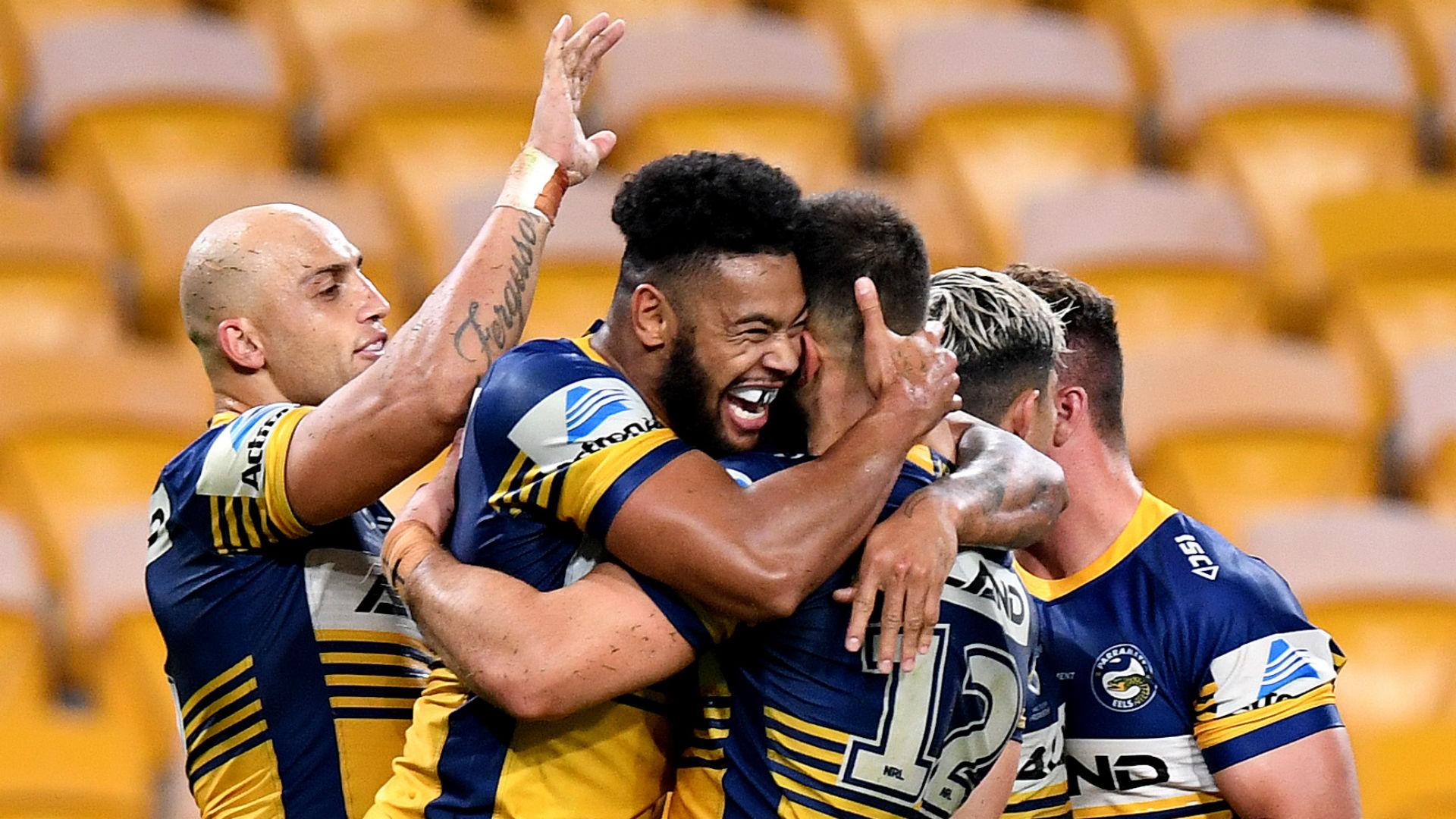 Brisbane Broncos 6-34 Parramatta Eeels: Visitors maintain unbeaten start as NRL season resumes
