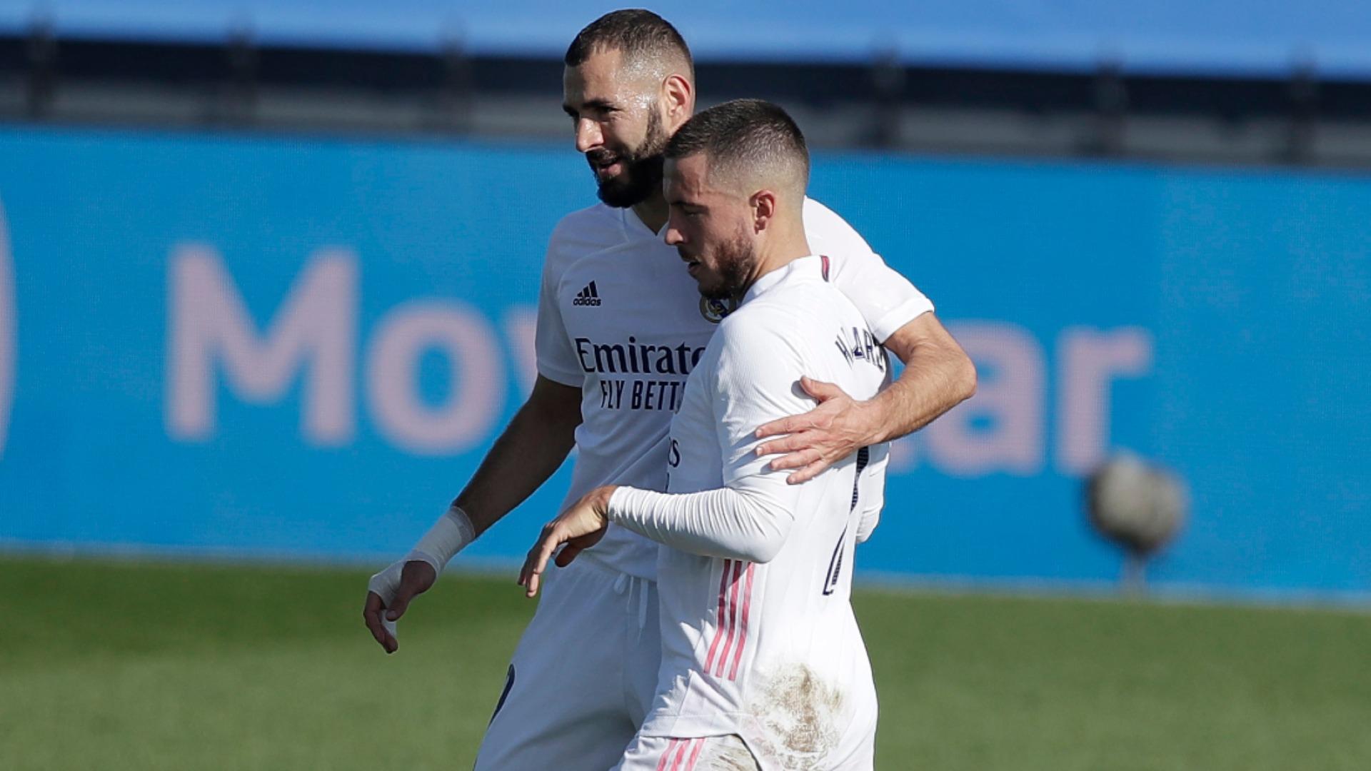 Zidane insists Hazard has 'no problems' despite not celebrating Real Madrid goal