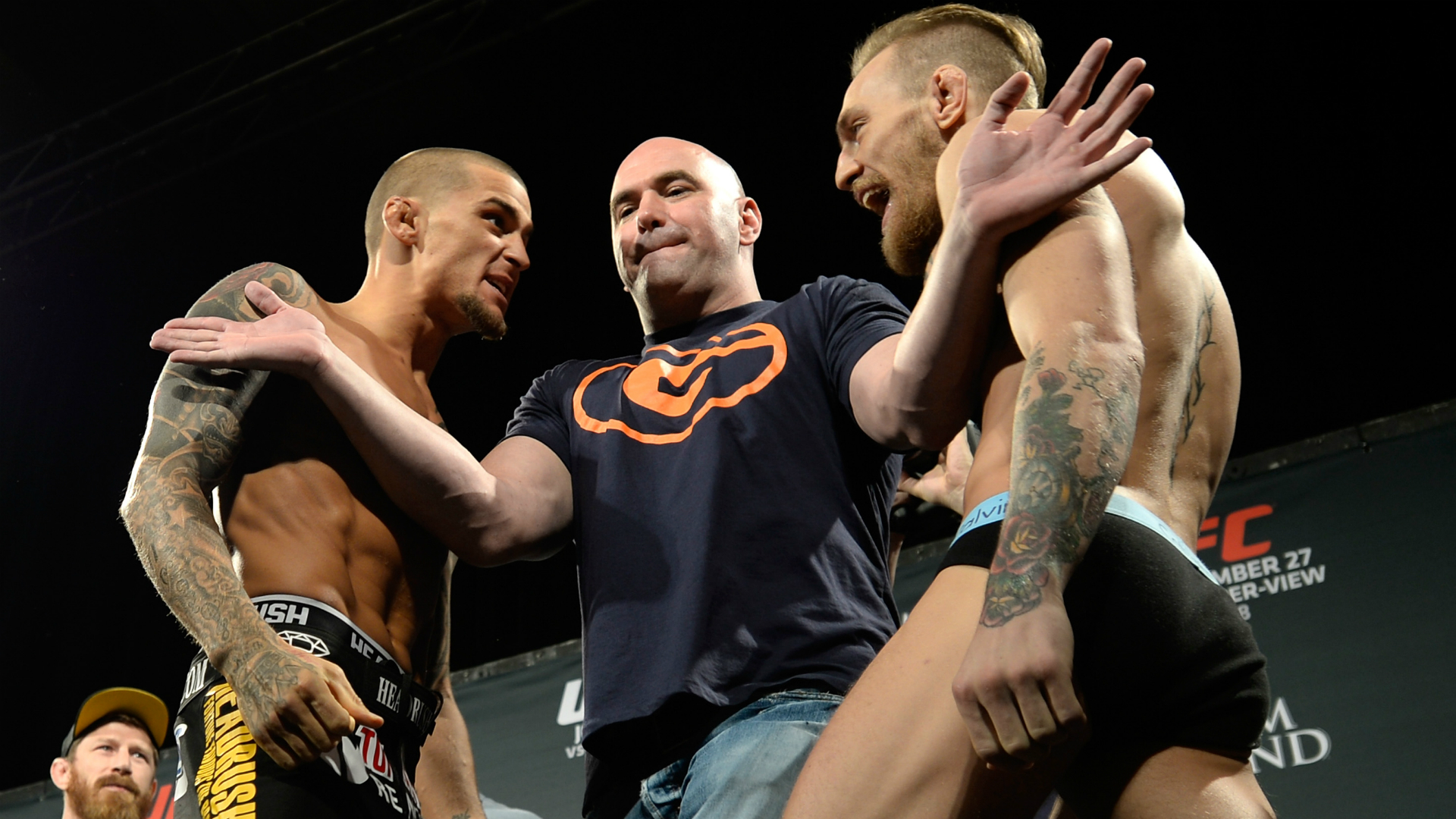 McGregor-Poirier bout not booked – UFC president White