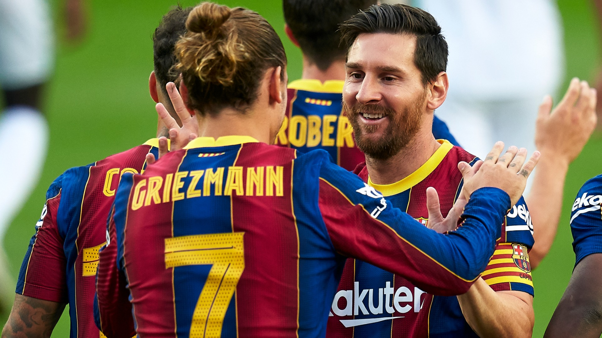 Messi and Griezmann get on really well, insists former Barcelona man Rakitic