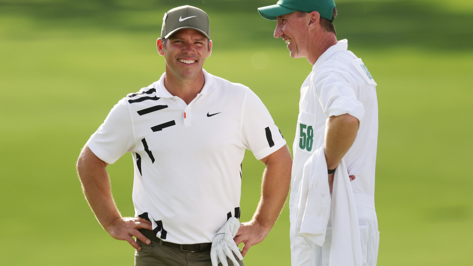 The Masters: Casey still feeling a 'buzz' at Augusta