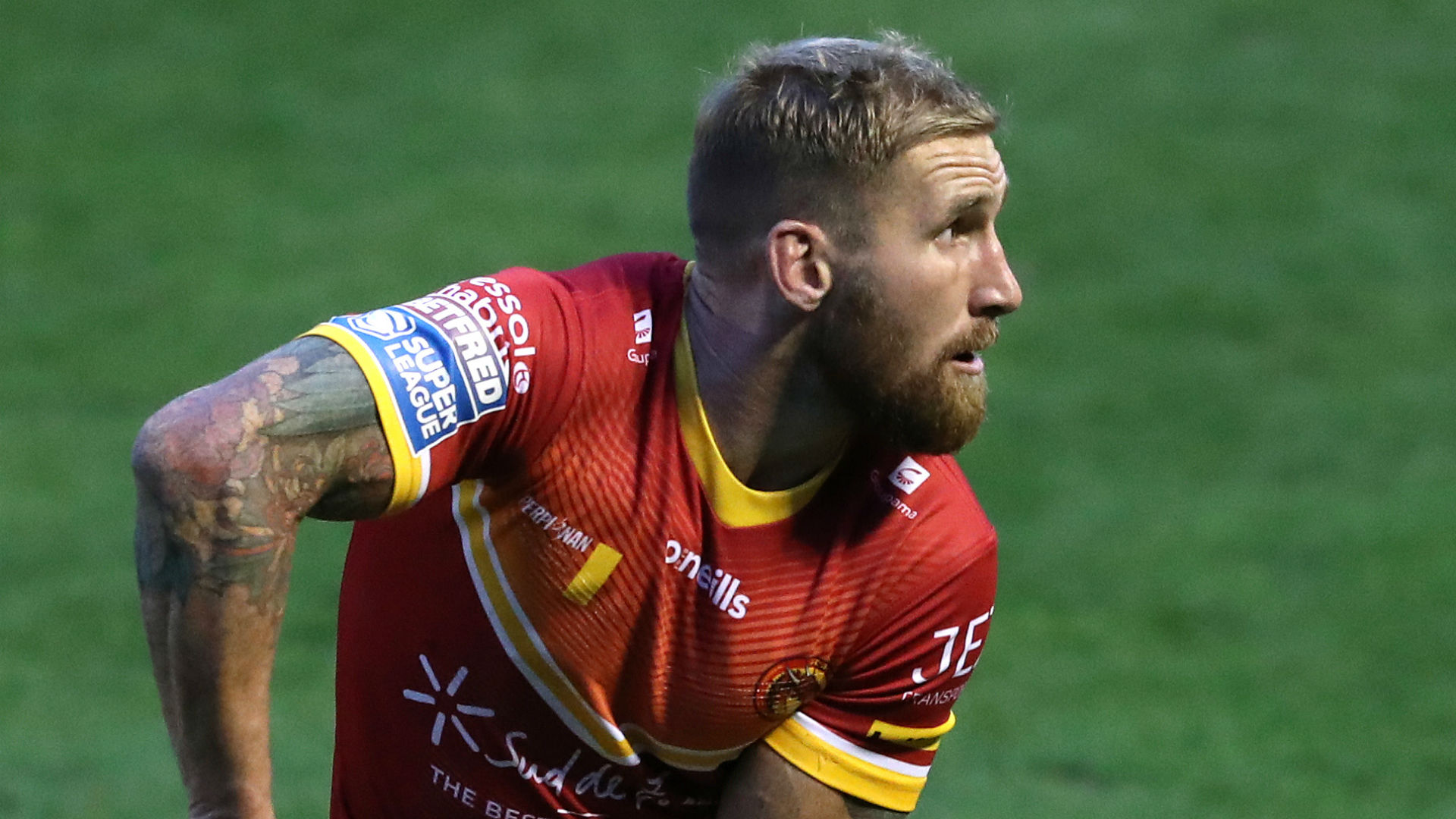Catalans Dragons 26-14 Leeds Rhinos: Tomkins stars in play-off win