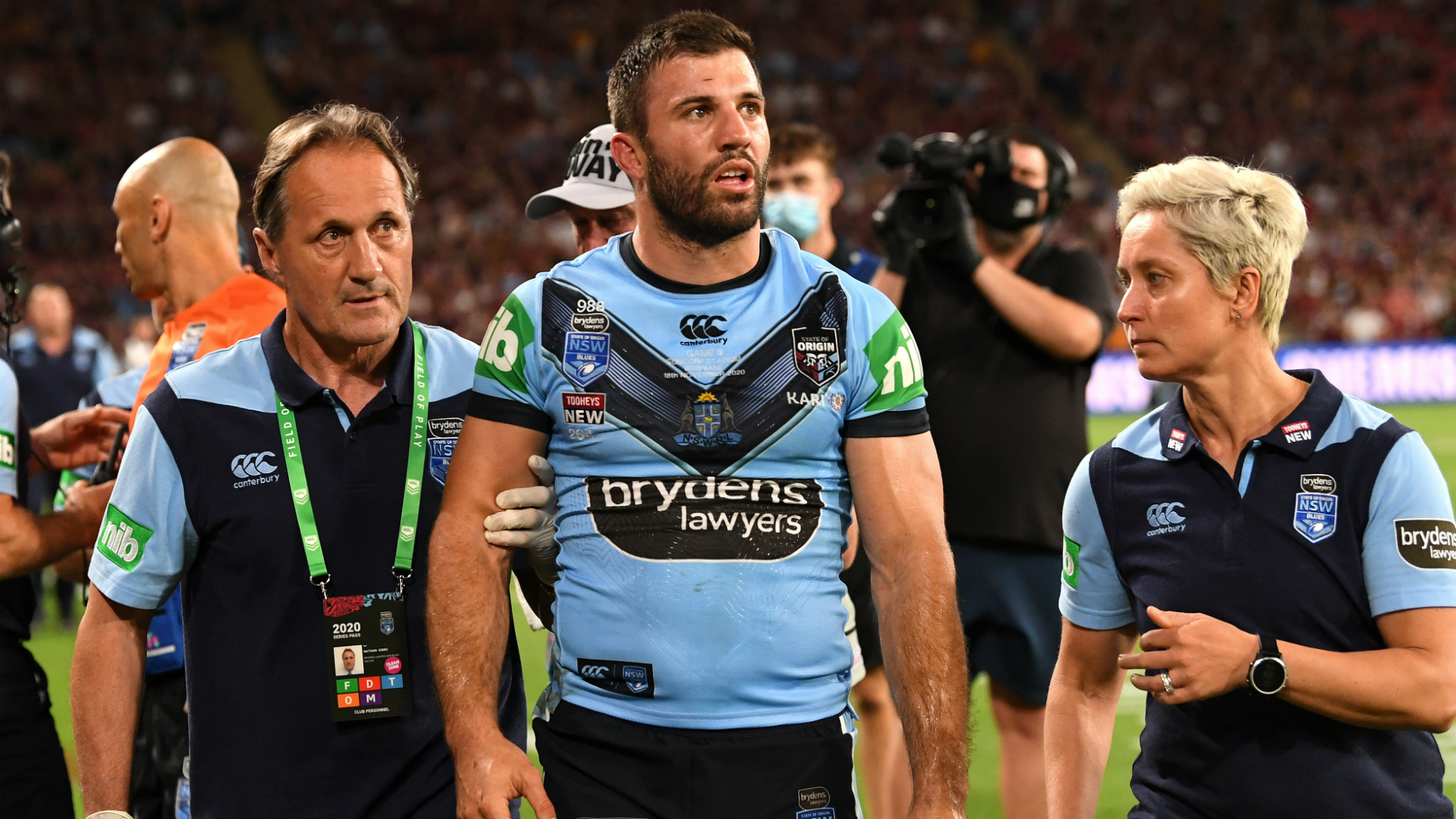 Bennett hits back at Fittler's 'lack of respect' claims aimed at Arrow over Tedesco incident