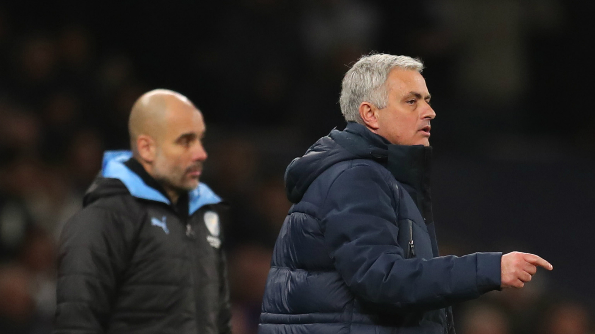 Guardiola: Tottenham in title contention under Mourinho