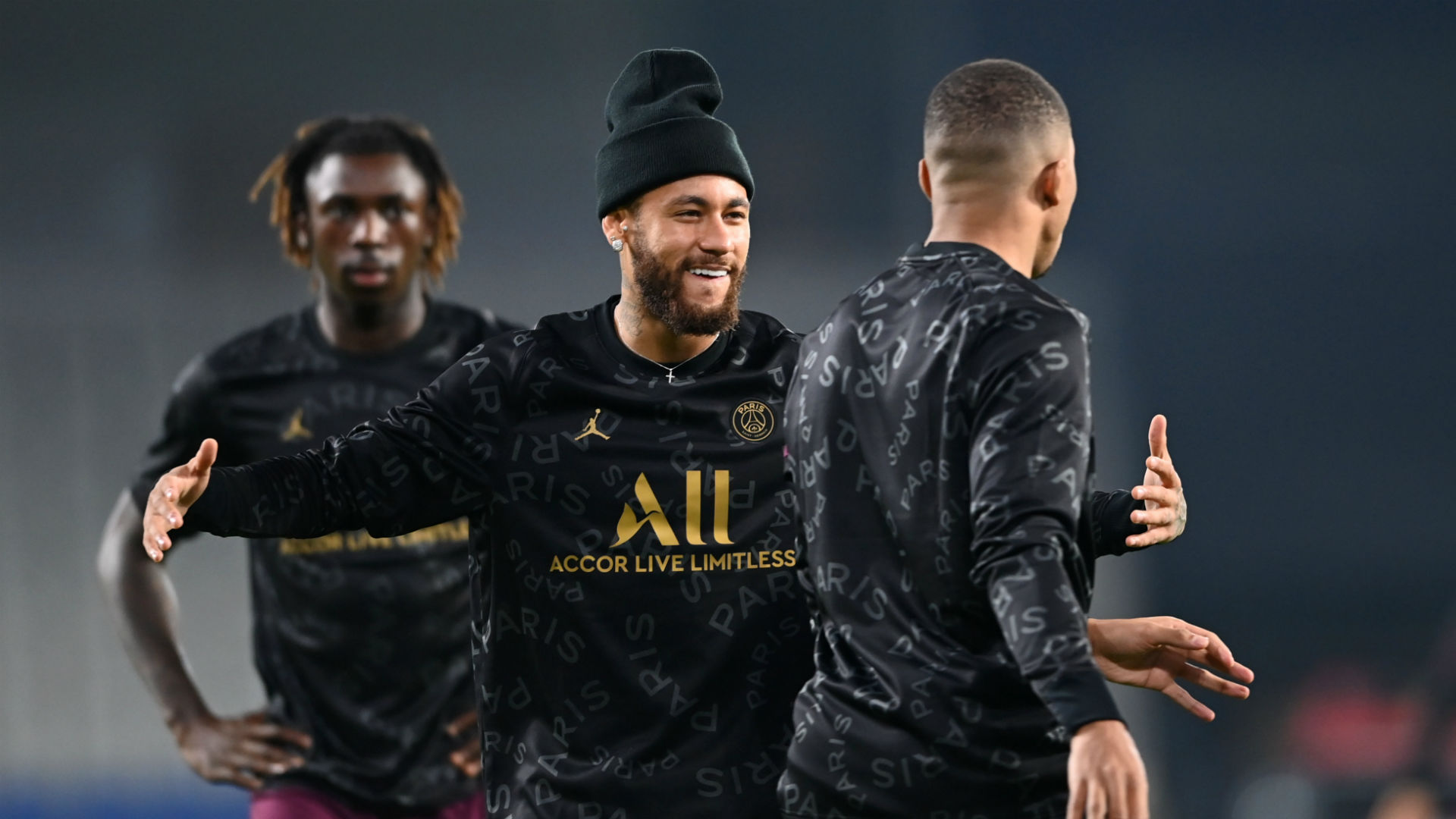 Neymar, Mbappe and Kean in PSG squad to face Monaco