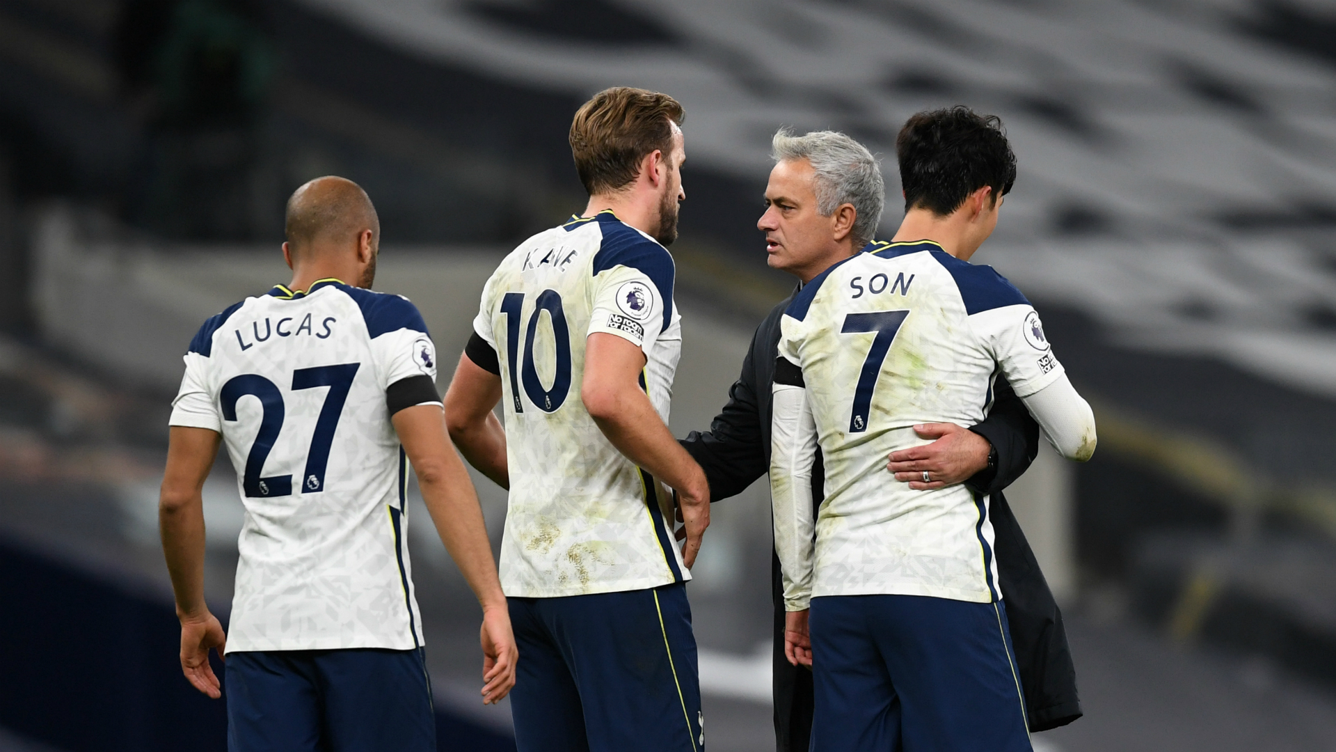 Mourinho: Tottenham are not fighting for the title