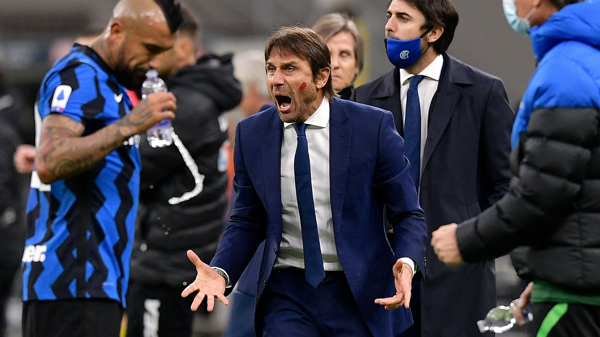 Conte demands comeback kings Inter find their ferocity