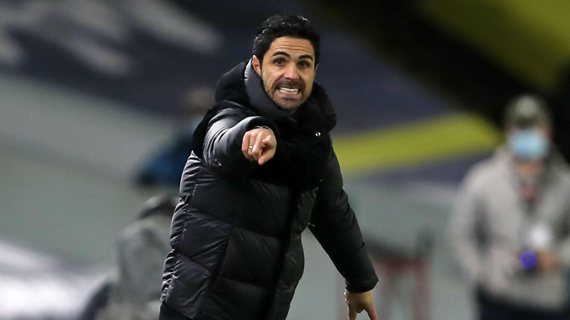 Arteta: Pepe red card unacceptable