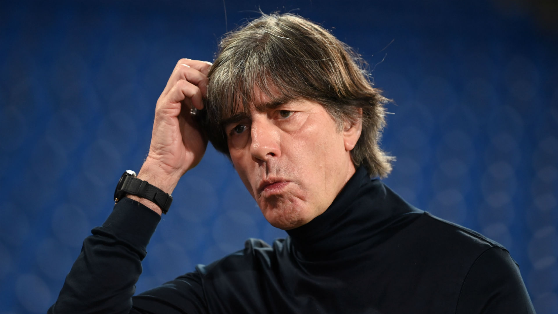 Low given space to deal with Spain thrashing but Germany 'situation' being assessed