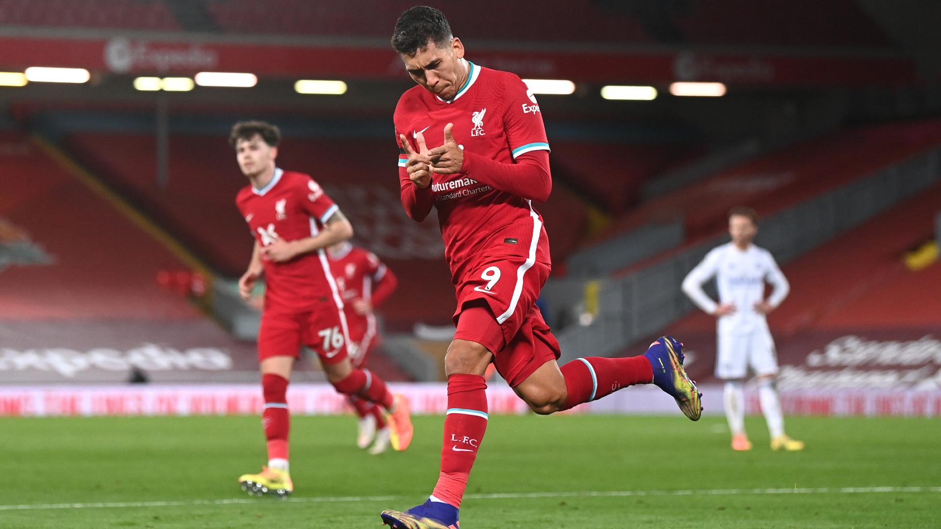 Klopp hails Firmino for 'super game' as Liverpool forward stars