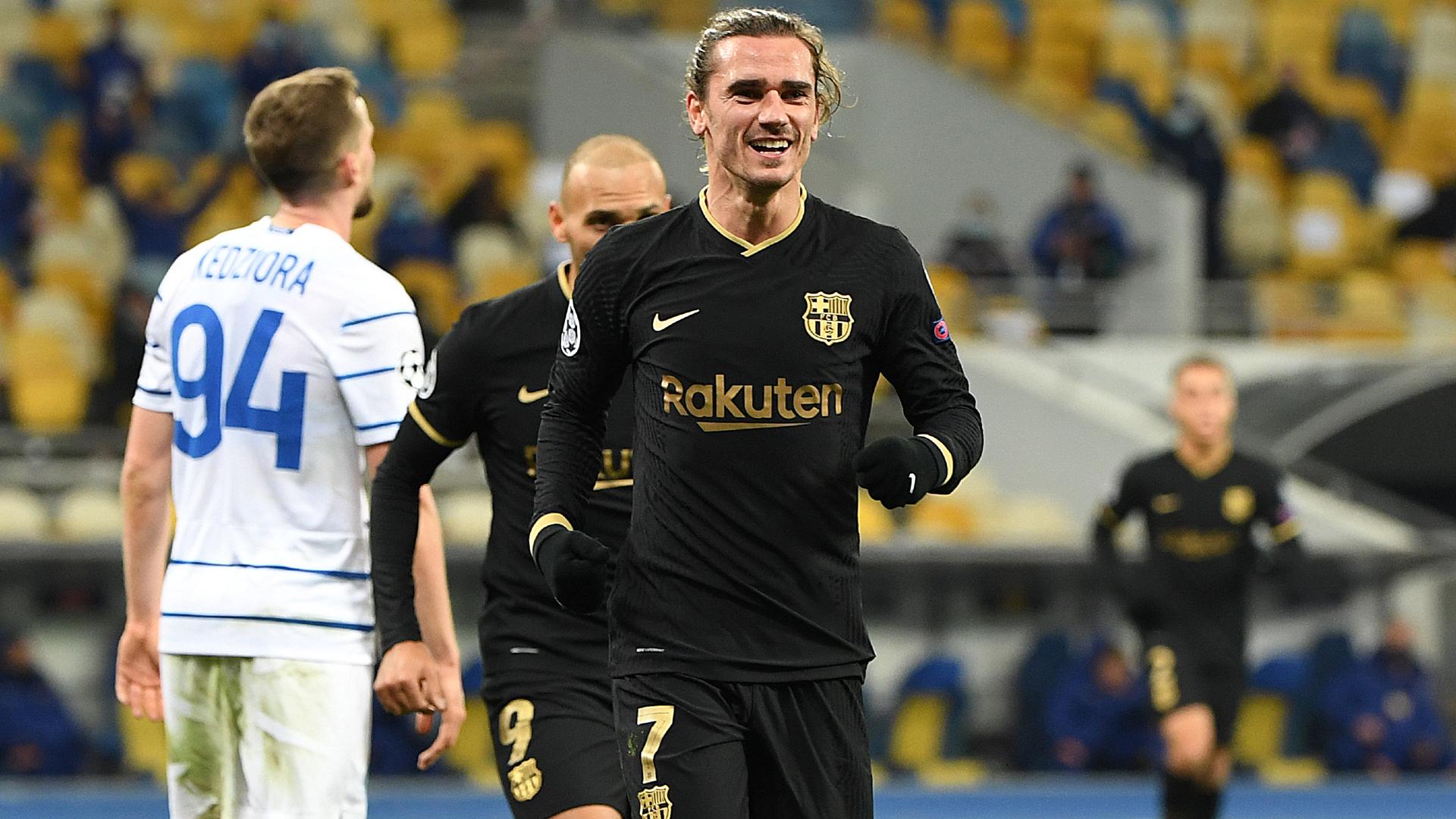 Koeman claims nothing behind 'happy' Griezmann not starting in Kiev