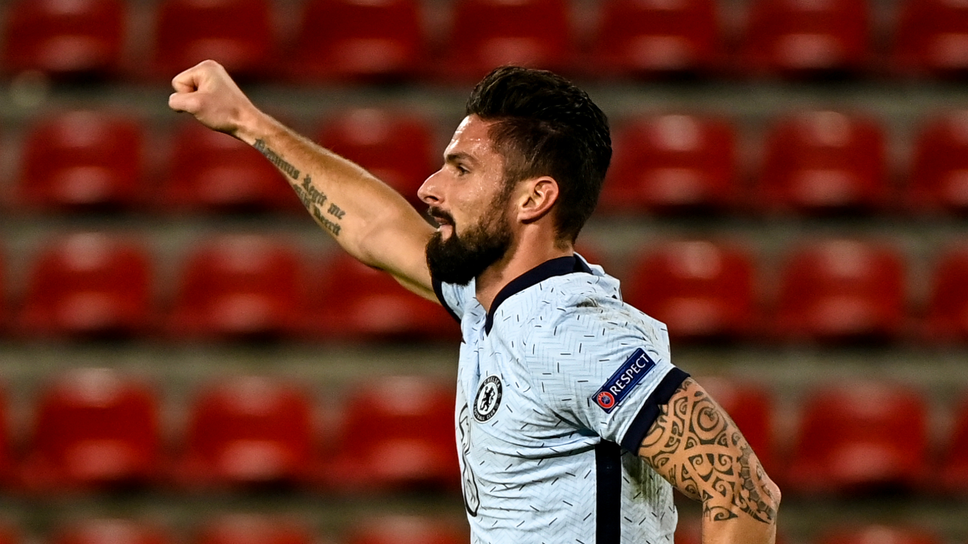 Rennes 1-2 Chelsea: Giroud books last-16 spot for Blues with late header