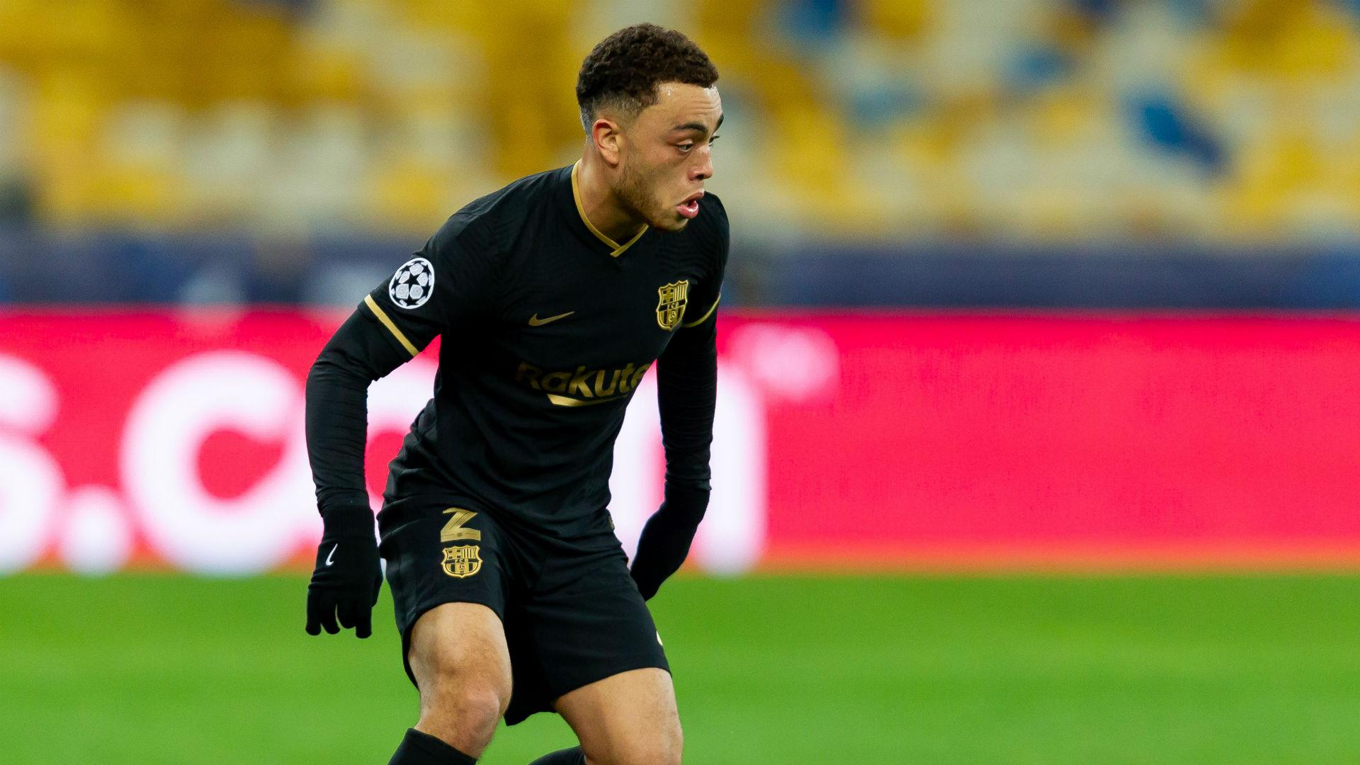 Alba backs Dest to become Barcelona star