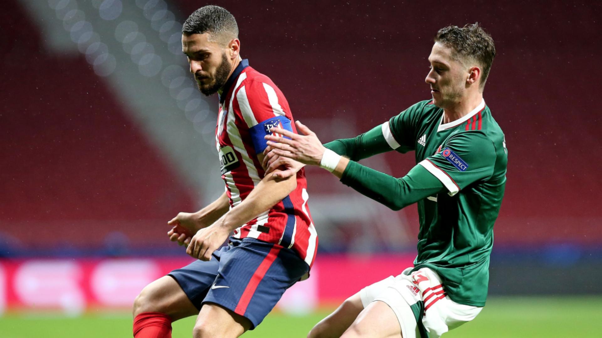 Atletico Madrid 0-0 Lokomotiv Moscow: VAR denies Koke as Simeone's men are held