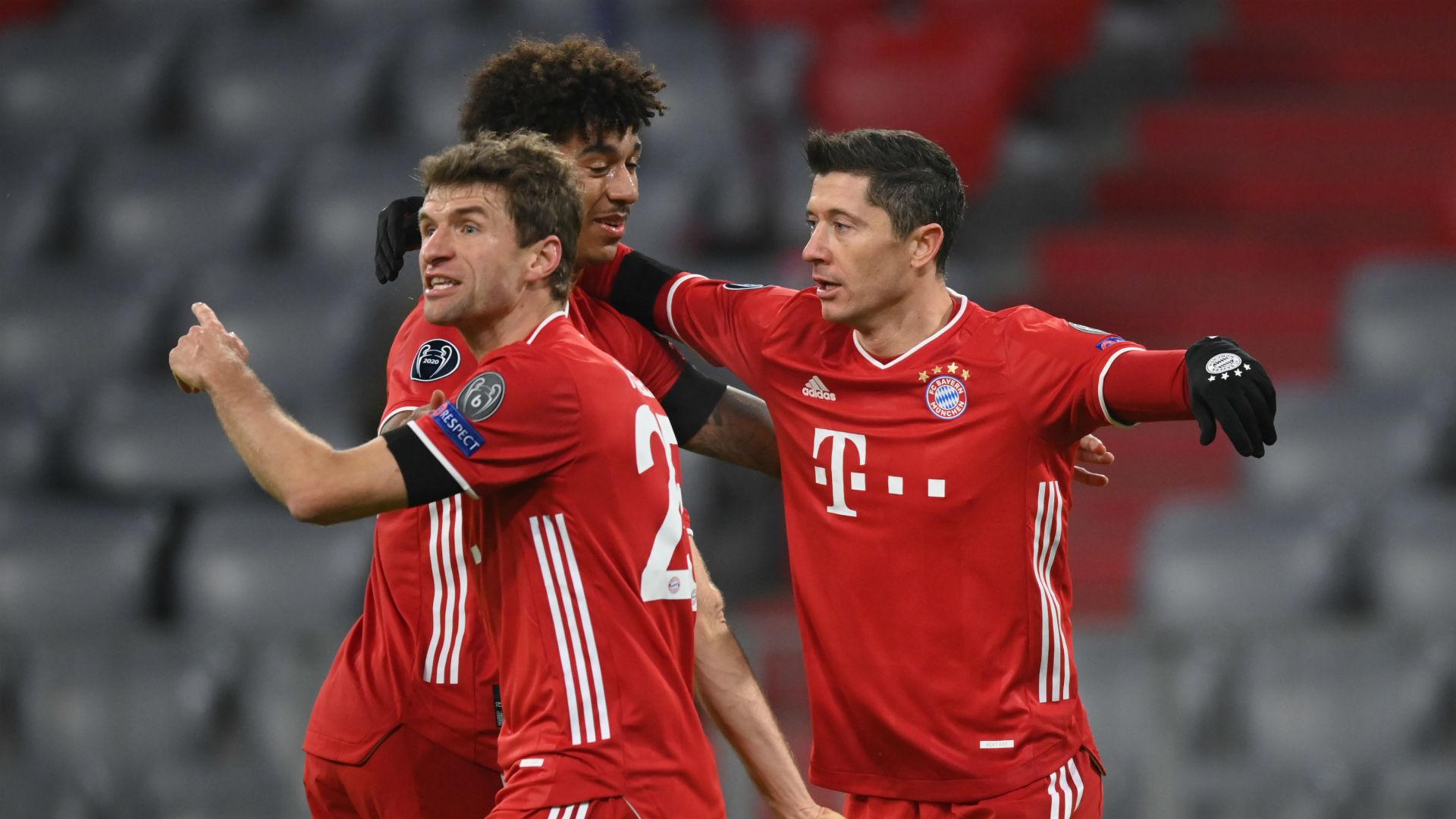 Bayern Munich 3-1 Salzburg: Lewandowski joins elite company as Flick's men seal last-16 spot