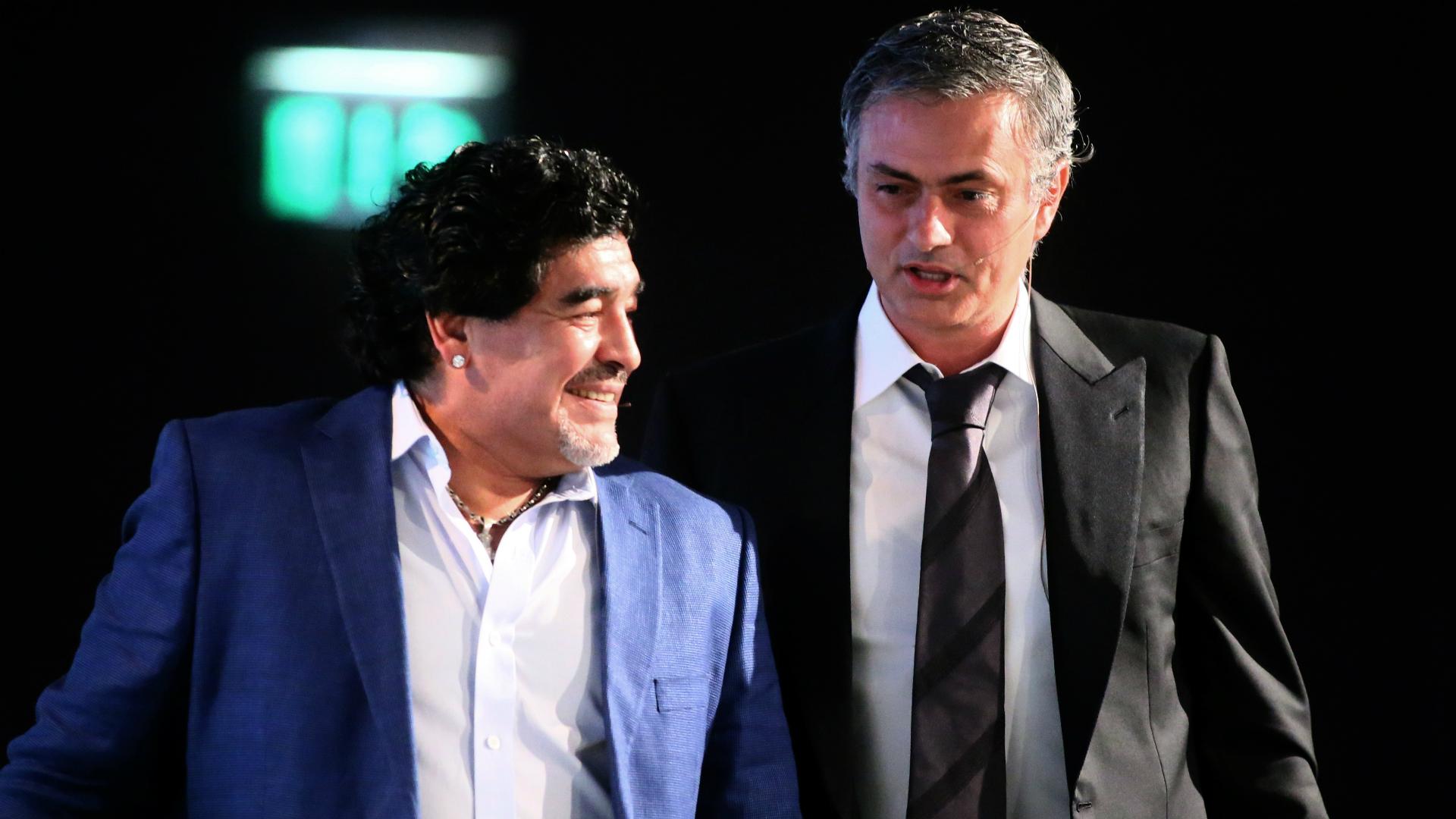 Diego Maradona dies: He would always call me after big defeats – Mourinho