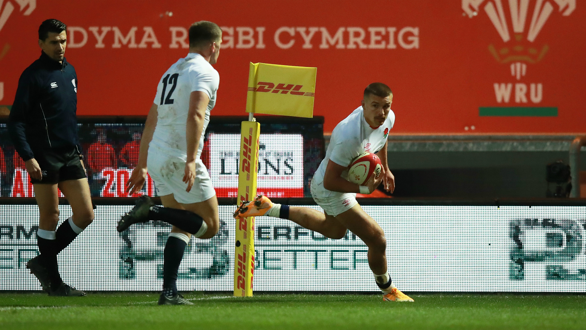 Wales 13-24 England: Slade and Vunipola pounce at Parc for Jones' men