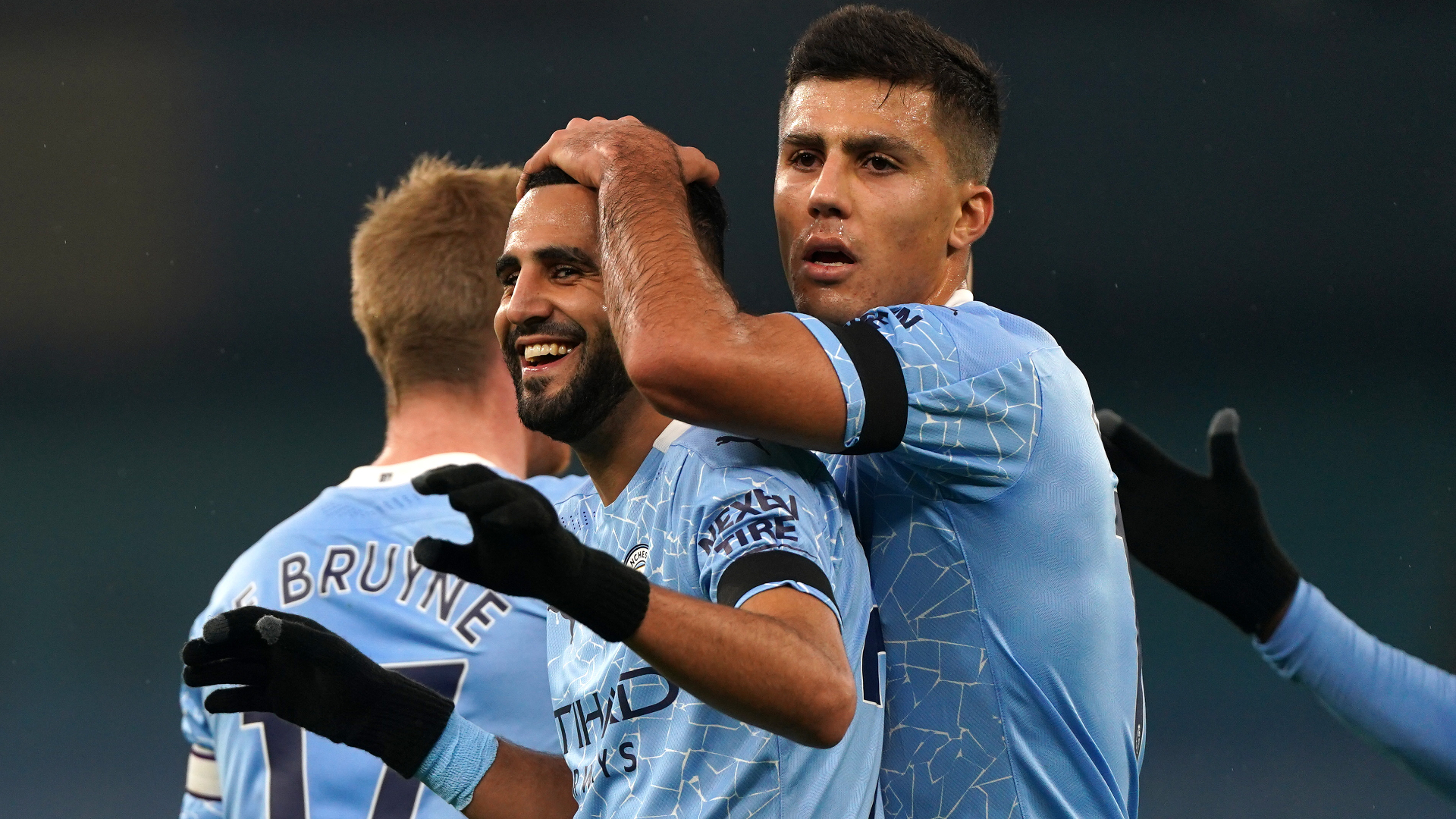 Manchester City 5-0 Burnley: Mahrez hits hat-trick in latest Clarets thrashing