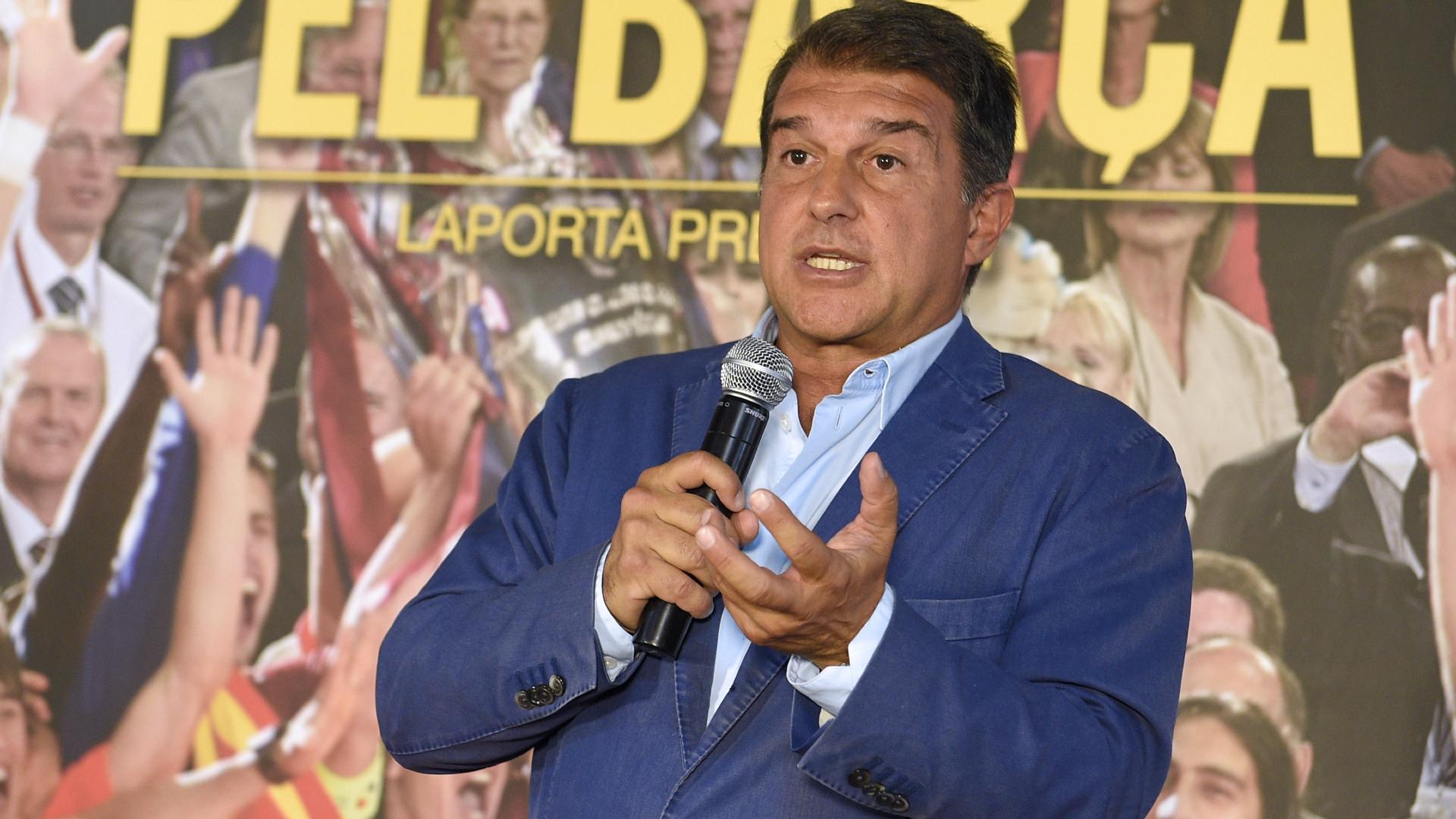 Joan Laporta confirms bid to return as Barcelona president