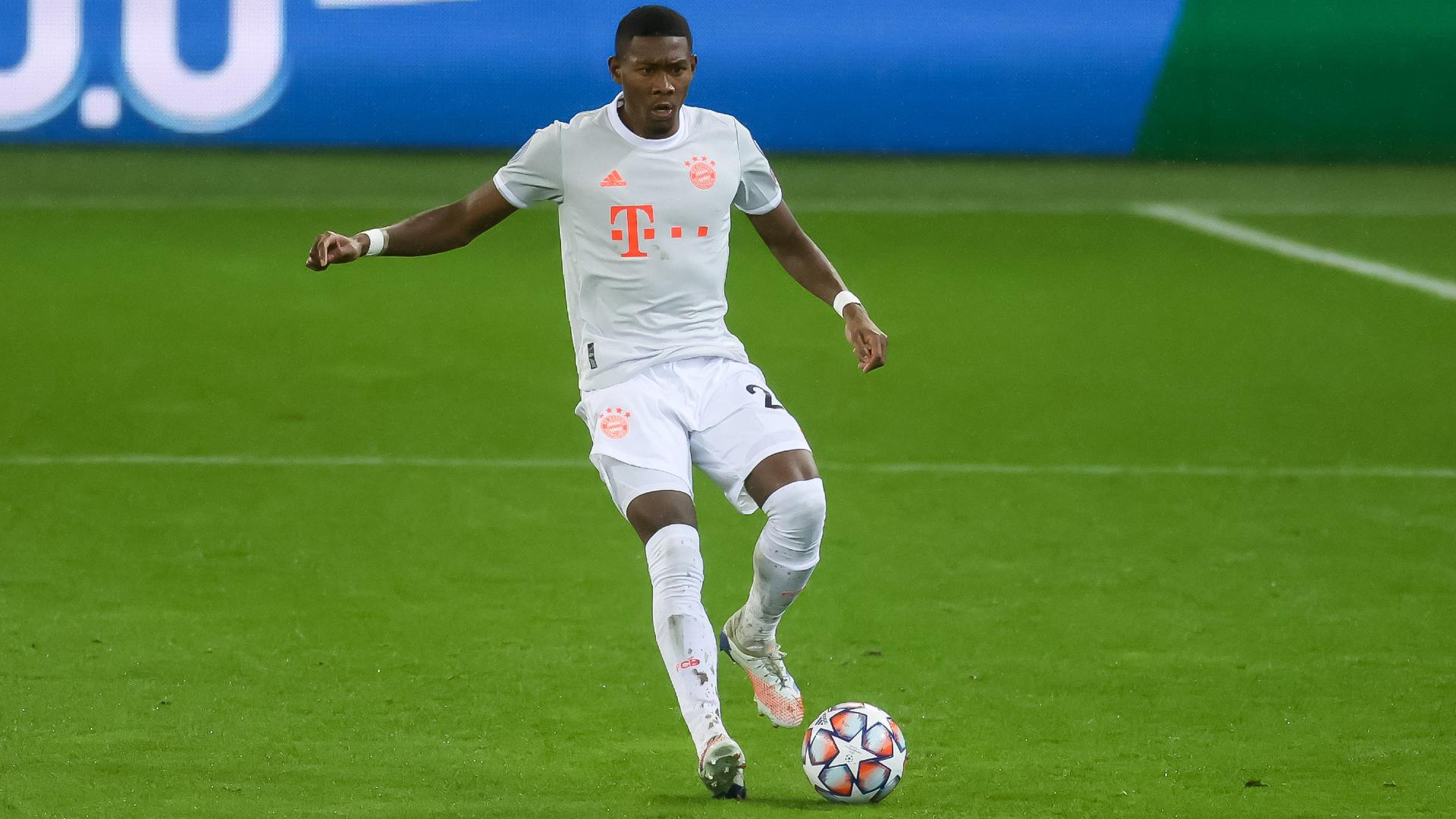 Bayern Munich players 'absolutely behind' Alaba, says Boateng