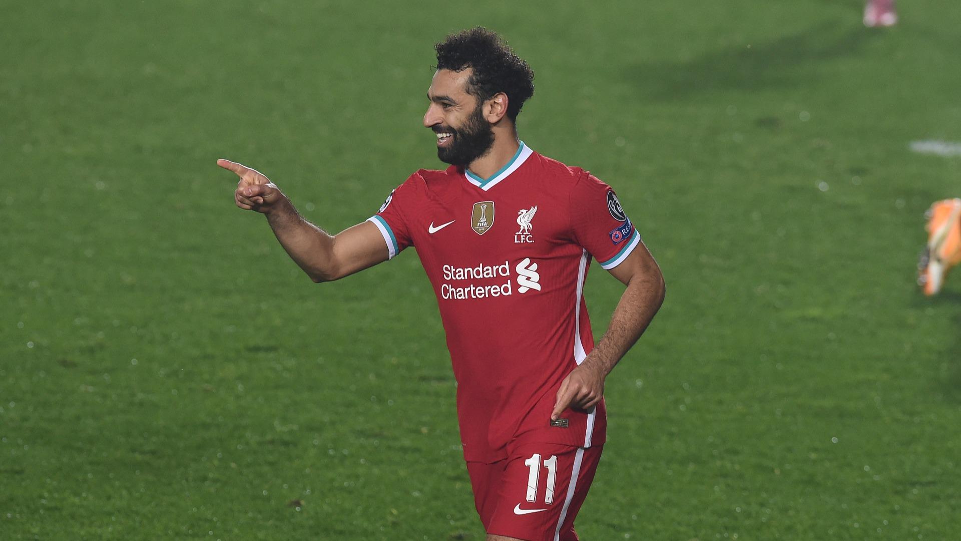 Salah equals Gerrard record as Liverpool's leading Champions League goalscorer