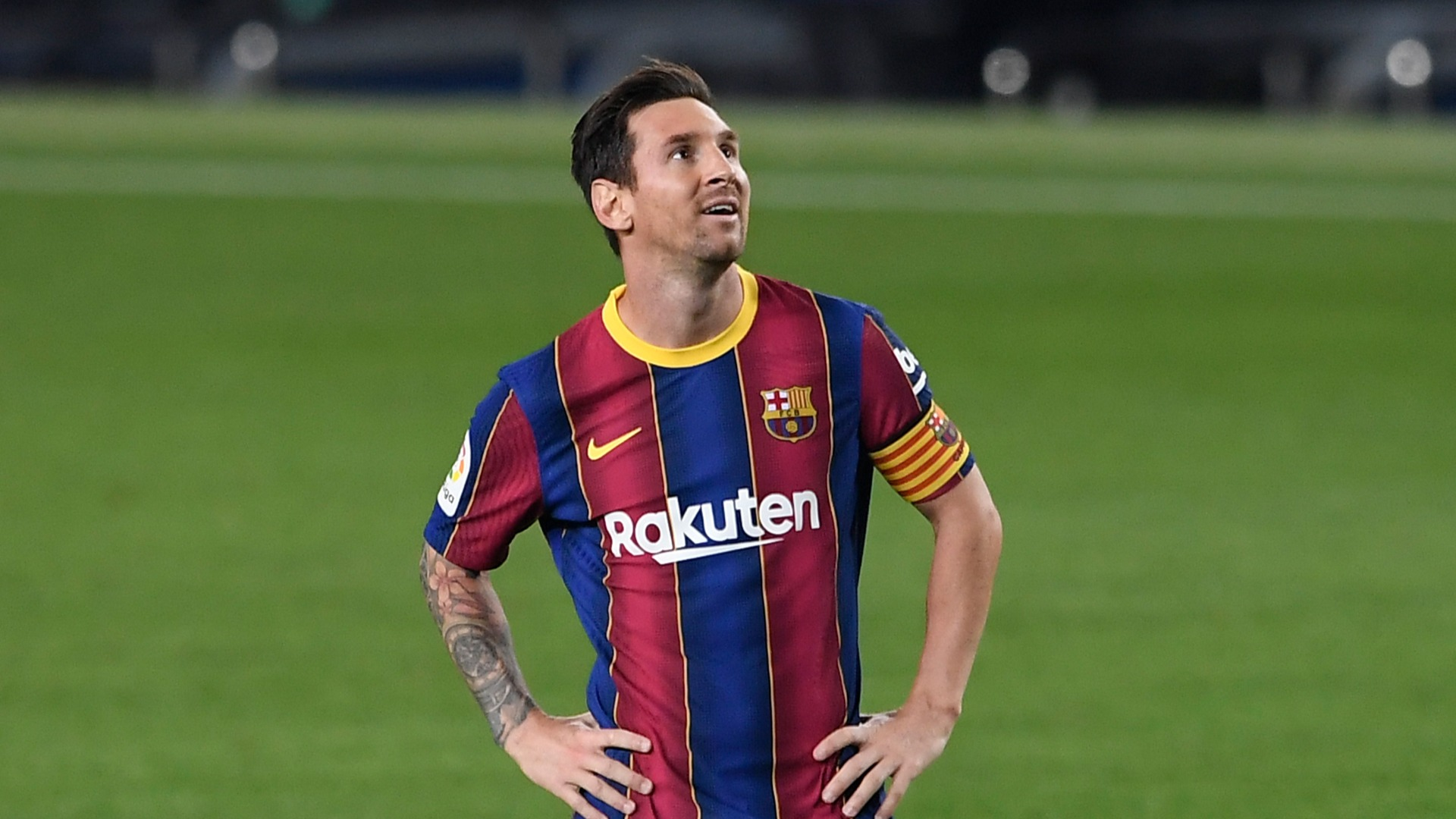 Messi named among Barcelona subs for Betis clash