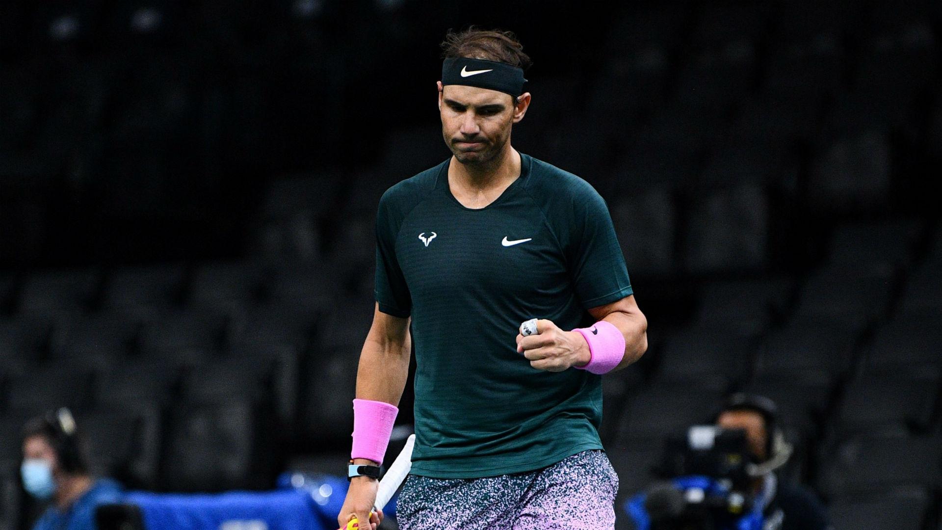 Nadal halts Carreno Busta and sends Schwartzman into ATP Finals