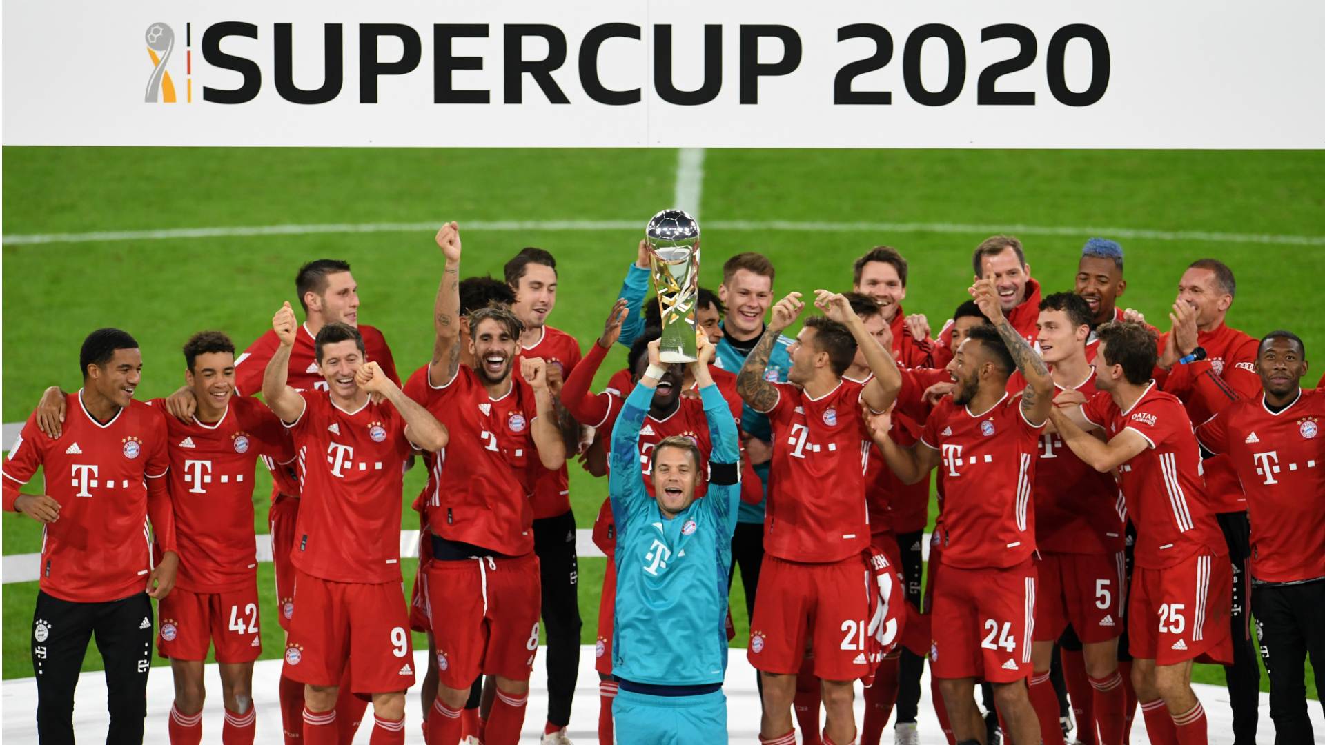 Bayern celebrate quintuple with Supercup win, but Dortmund fightback had Flick worried