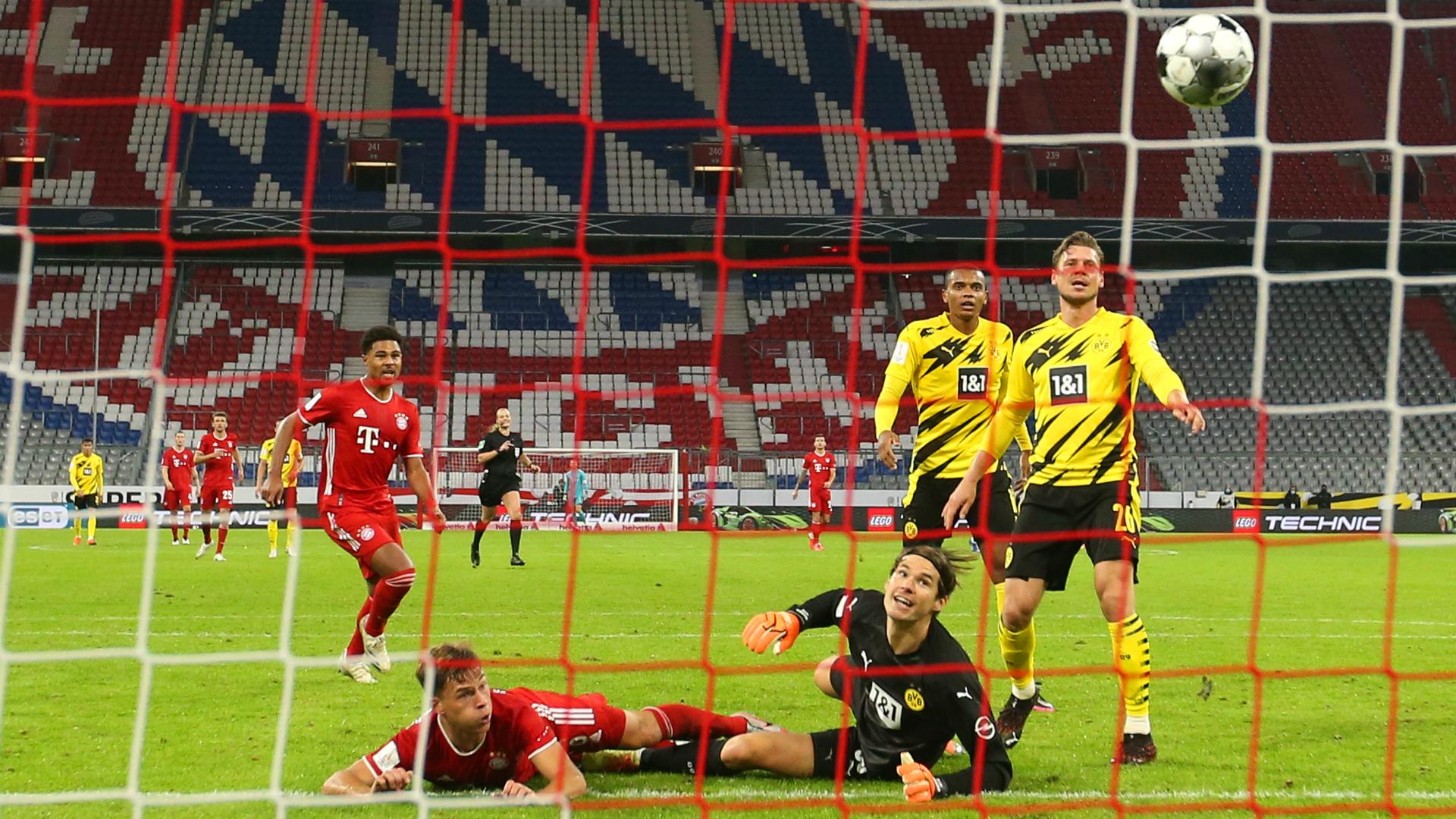Bayern Munich 3-2 Borussia Dortmund: Kimmich delivers Supercup for Flick's men