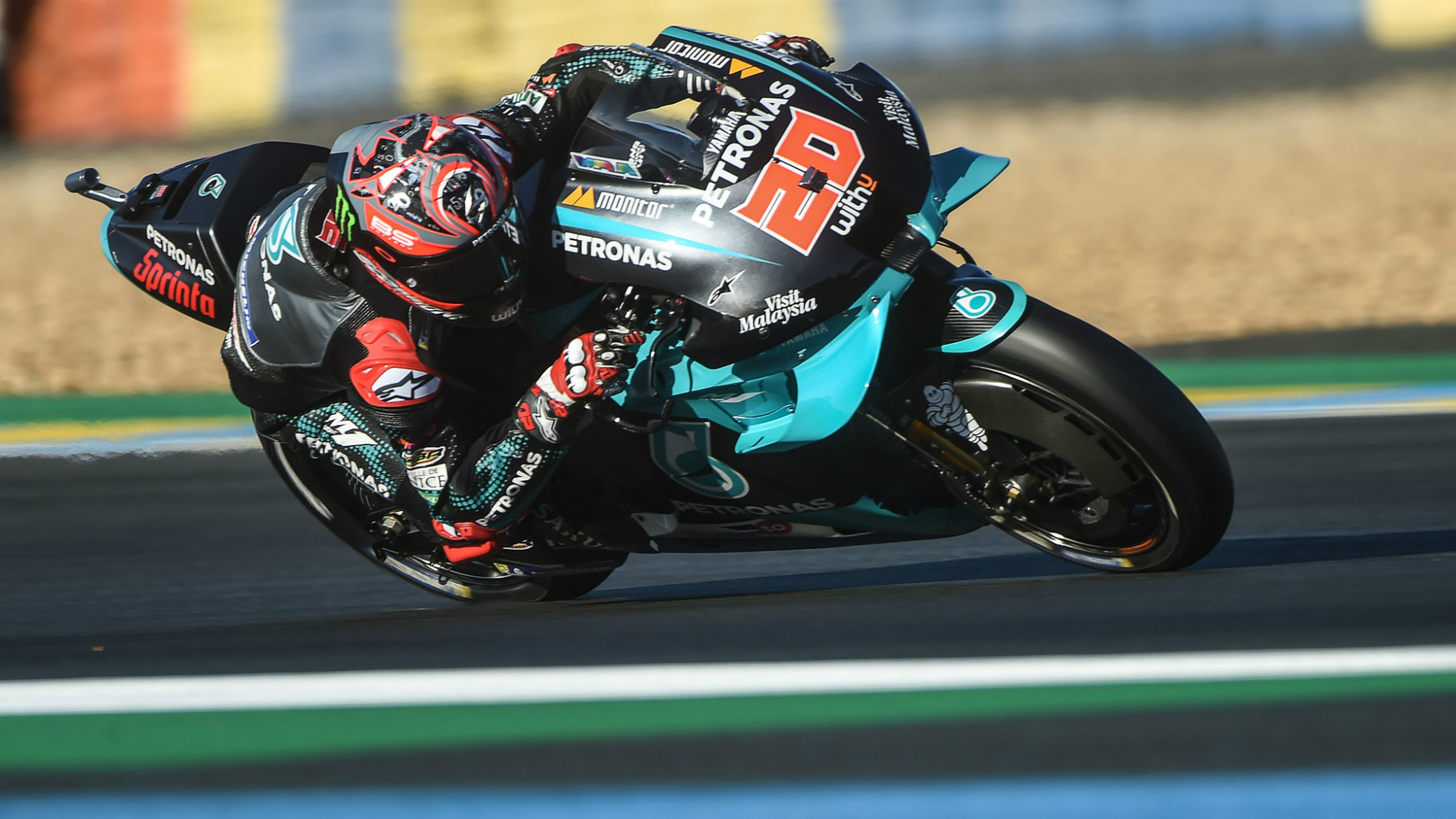 MotoGP 2020: Quartararo storms to home pole at Le Mans as Mir struggles