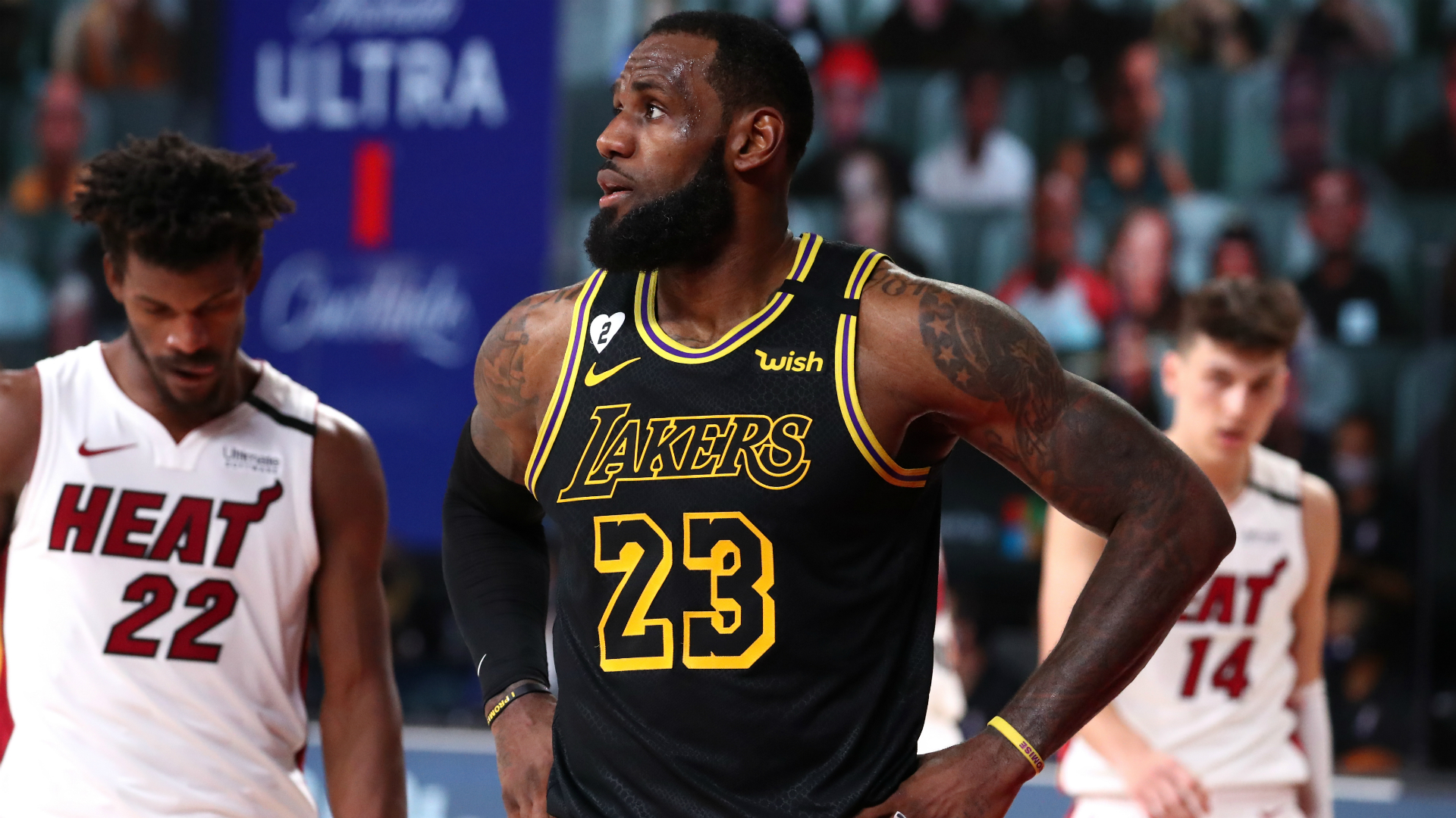 NBA Finals: LeBron demands improvement as Lakers' title party put on hold