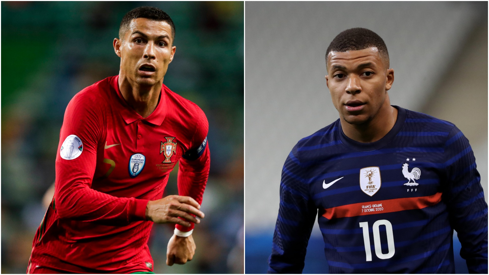 Ronaldo is Mbappe's idol but it's too soon to compare them - France boss Deschamps