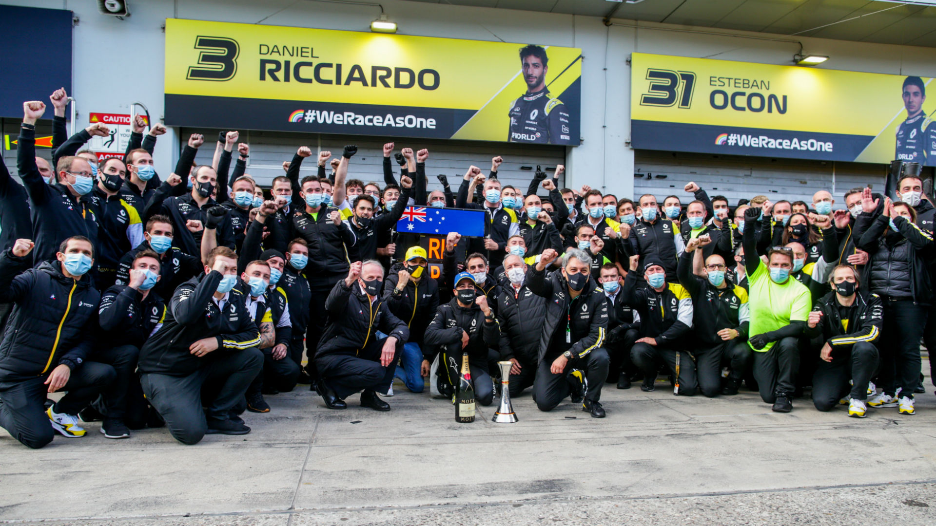 F1 2020: Renault chief set for German-themed Ricciardo tattoo after podium place