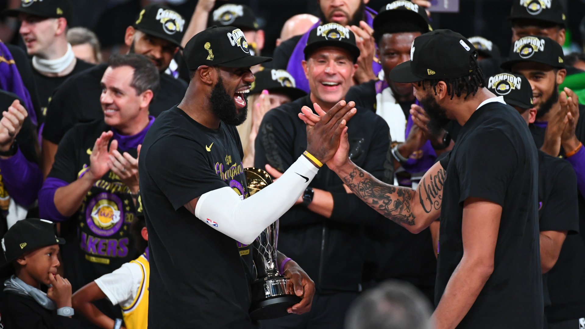 NBA Finals: Stats Perform numbers behind Lakers championship